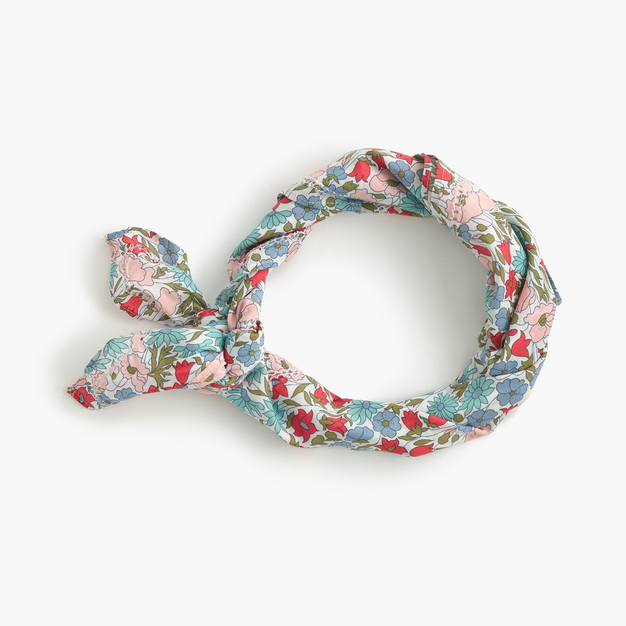 Bandanain Liberty® poppy and daisy floral