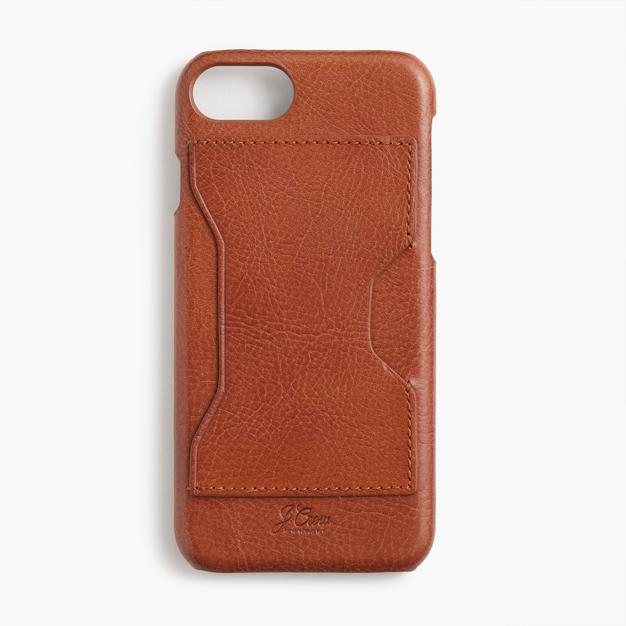 mens Leather case for iPhone® 6/6s/7 with cardholder