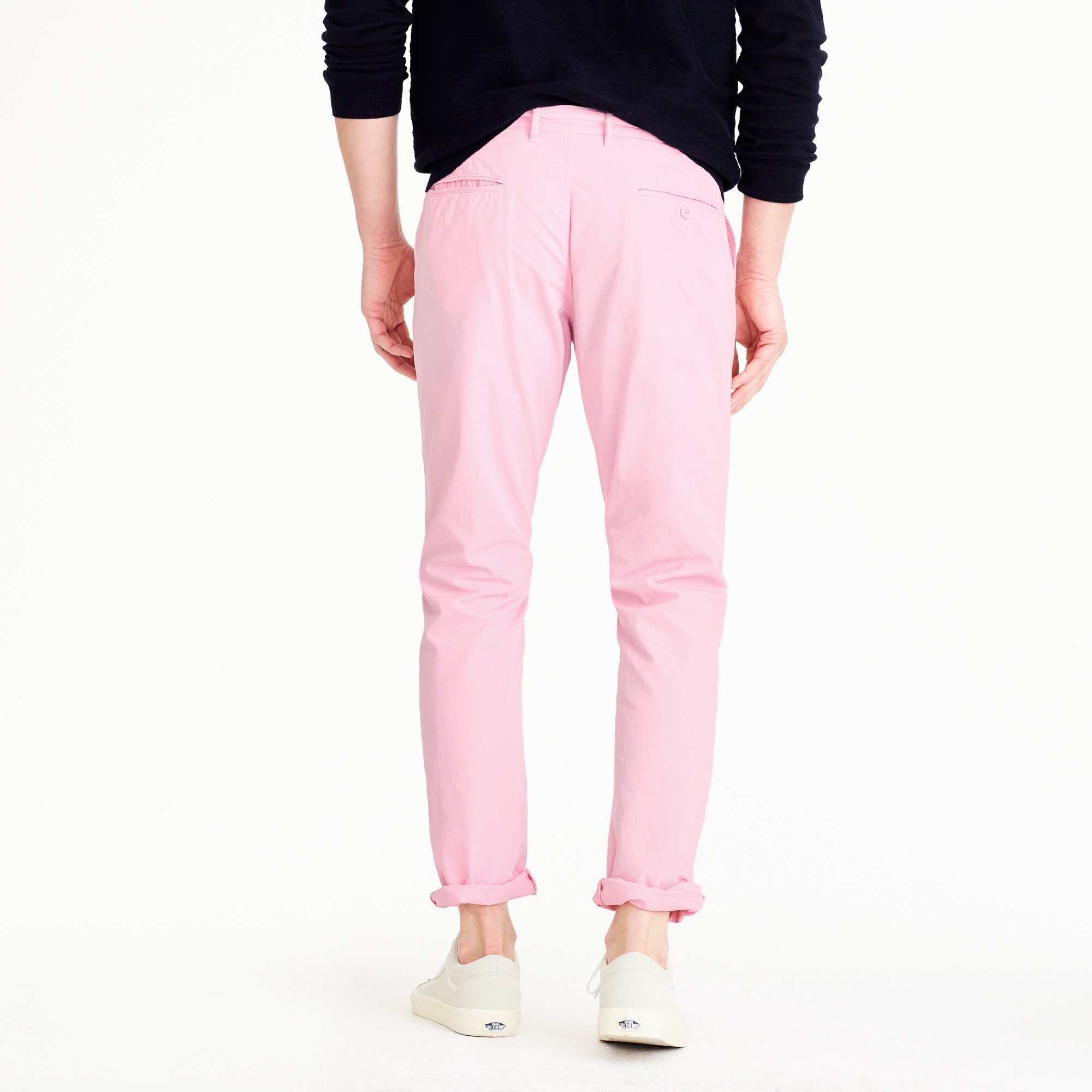 770 Straight-fit pant in lightweight garment-dyed chino