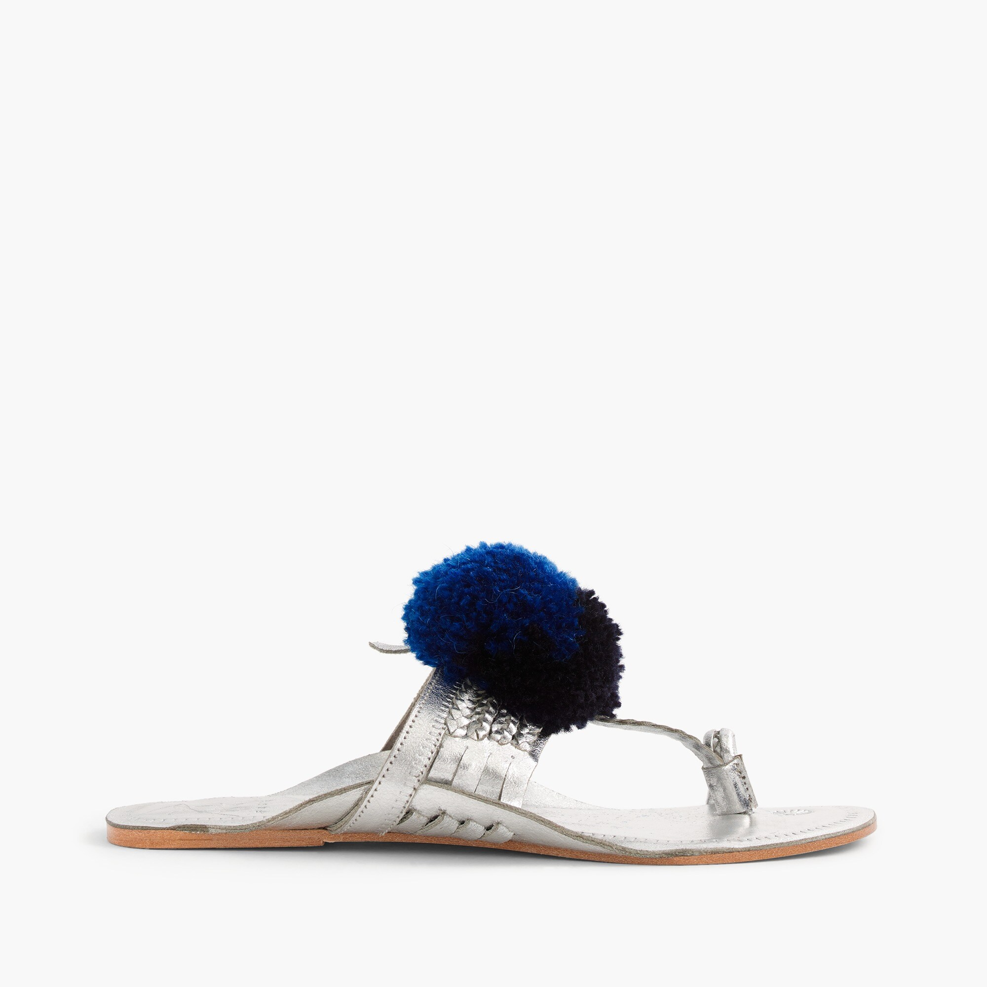 women's figue® leo pom-pom sandals - women's footwear