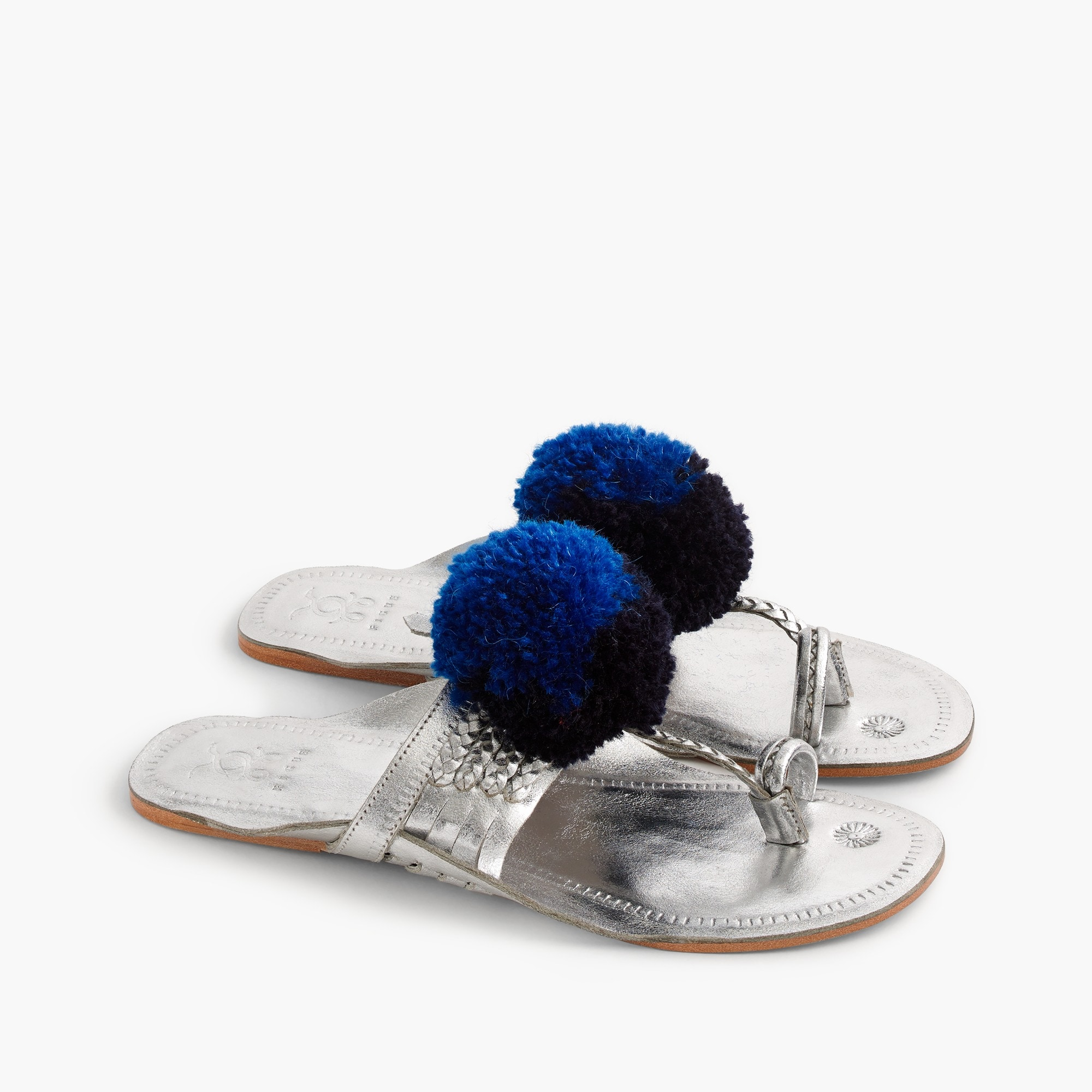 Image 3 for Figue® Leo pom-pom sandals