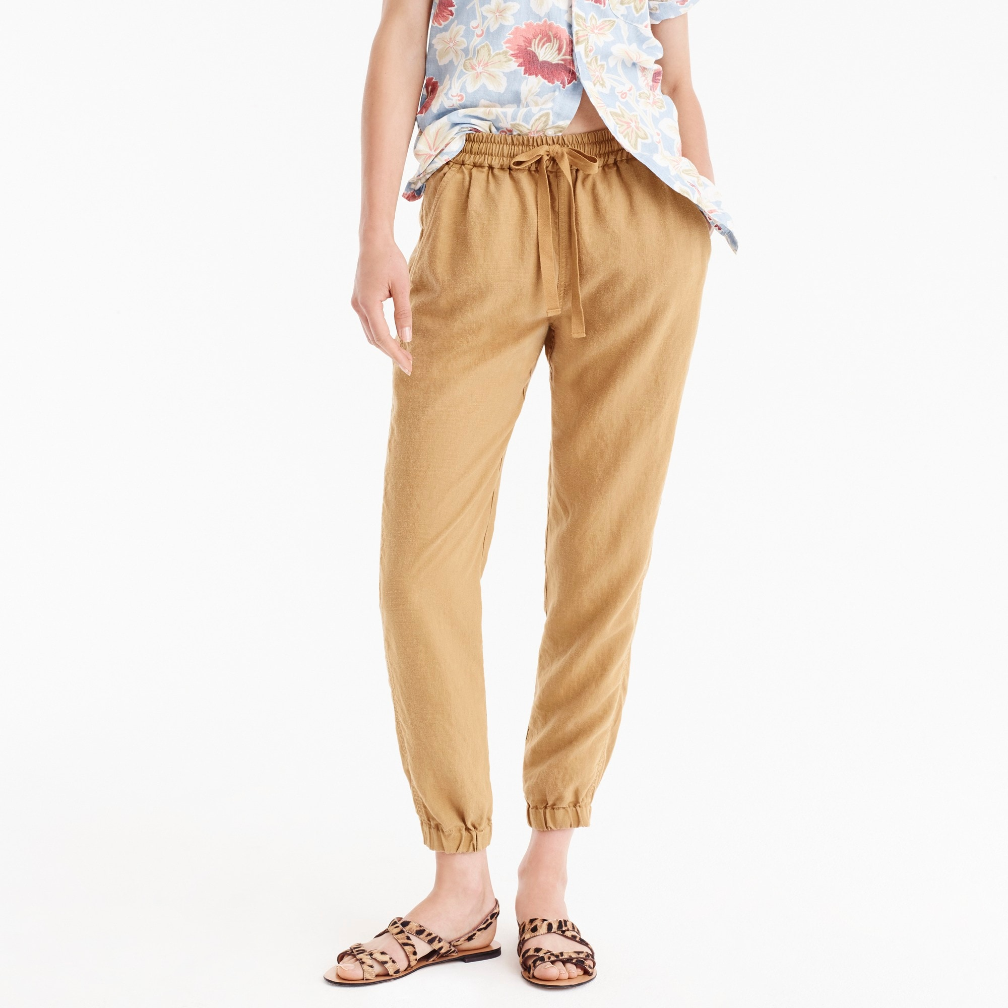womens Point Sur seaside pant in linen