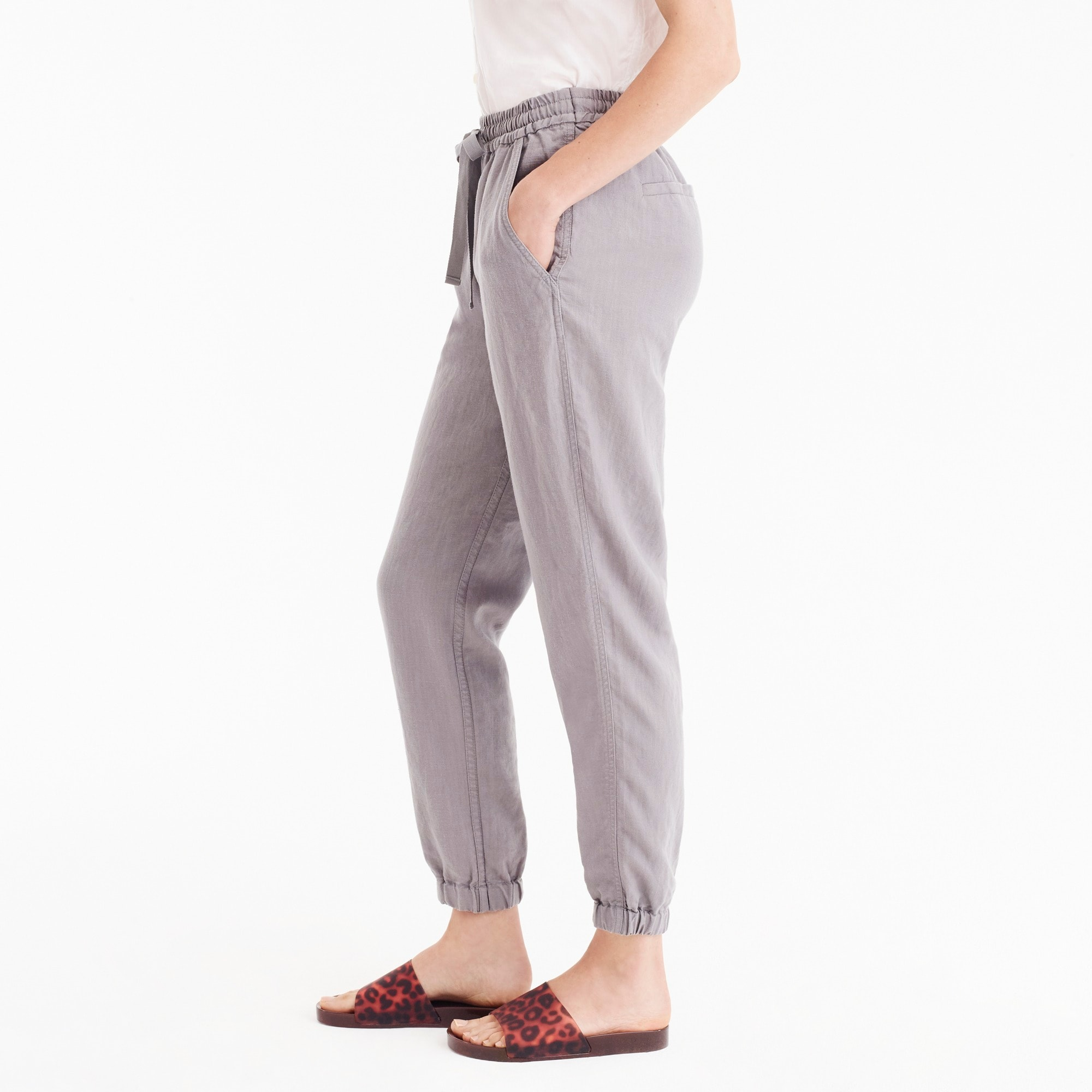 Image 5 for Point Sur seaside pant in linen