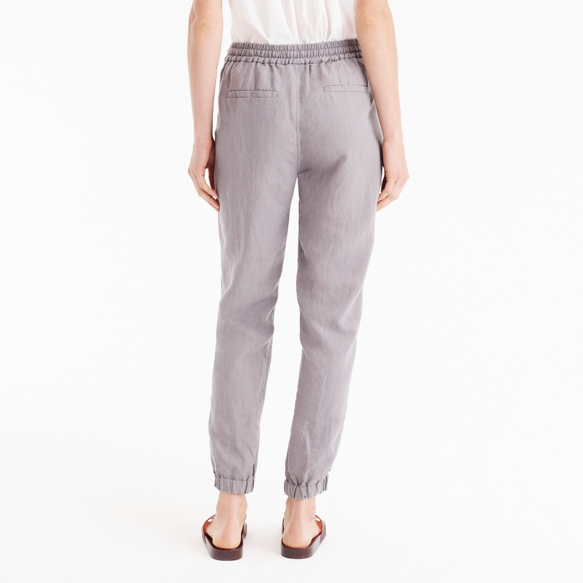 Petite Point Sur seaside pant in linen