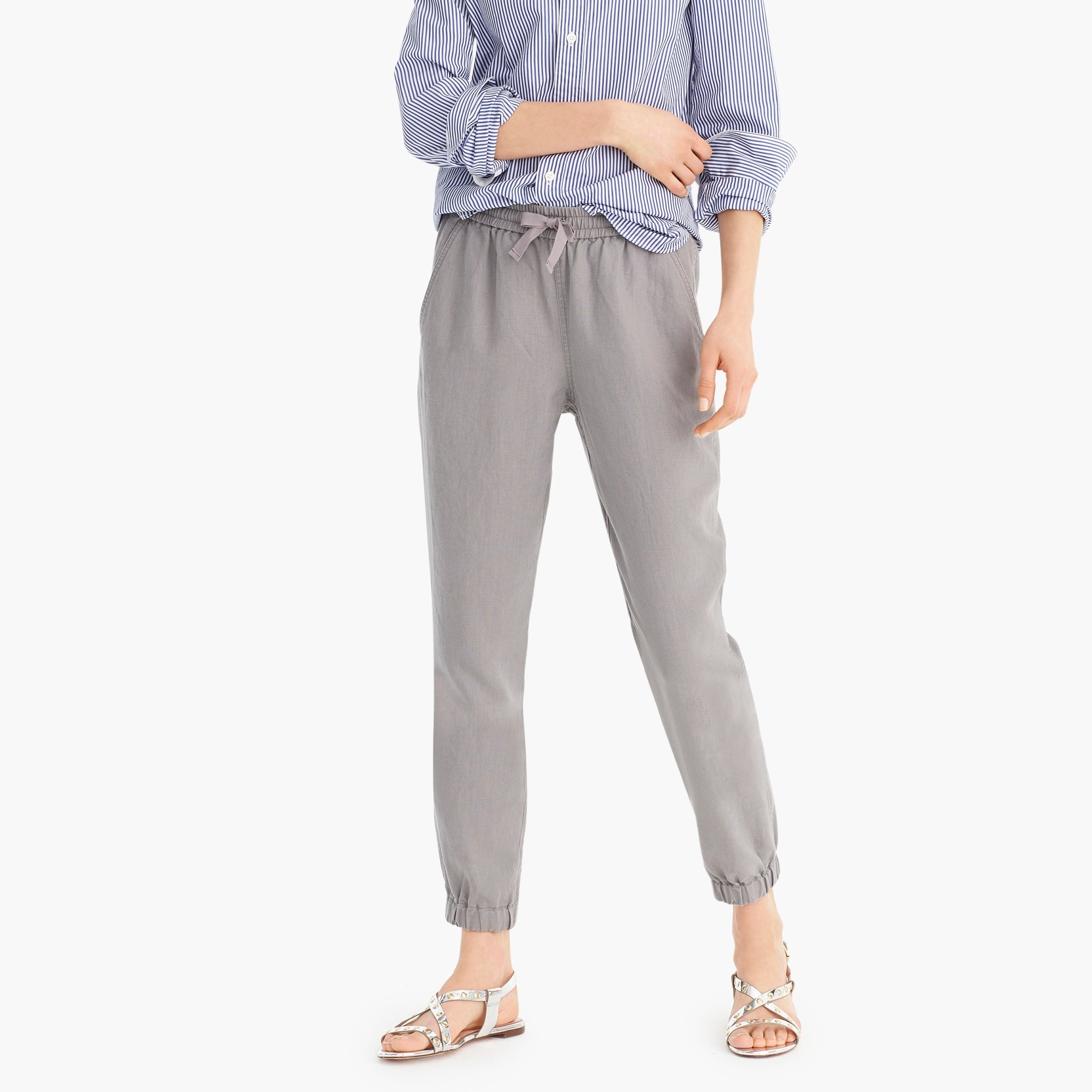 Point Sur seaside pant in linen women new arrivals c