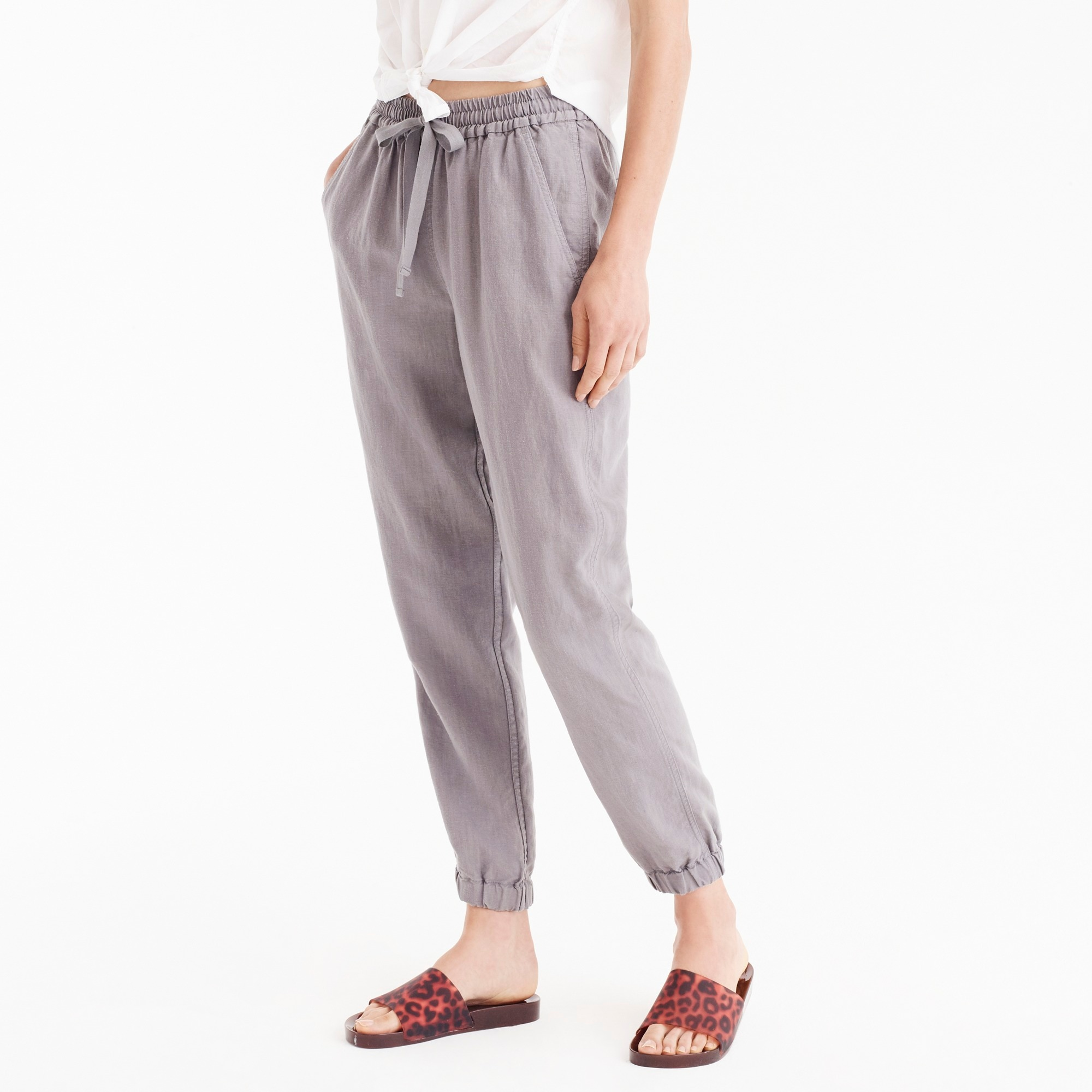 point sur seaside pant : women relaxed crop