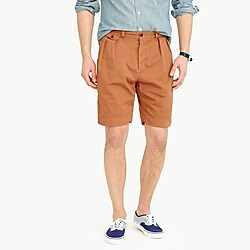 Double-pleated relaxed-fit short