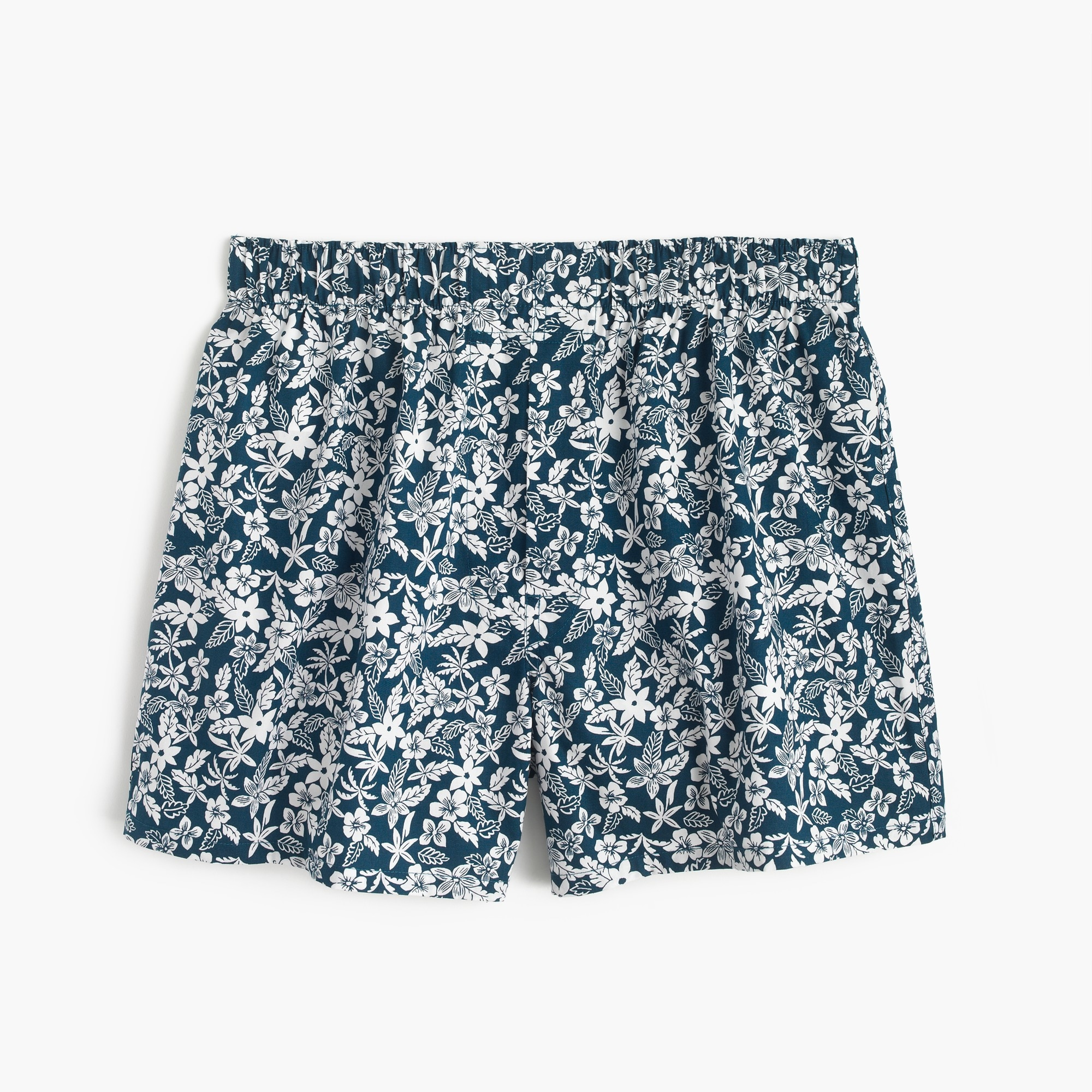 floral print boxers in navy : men boxers