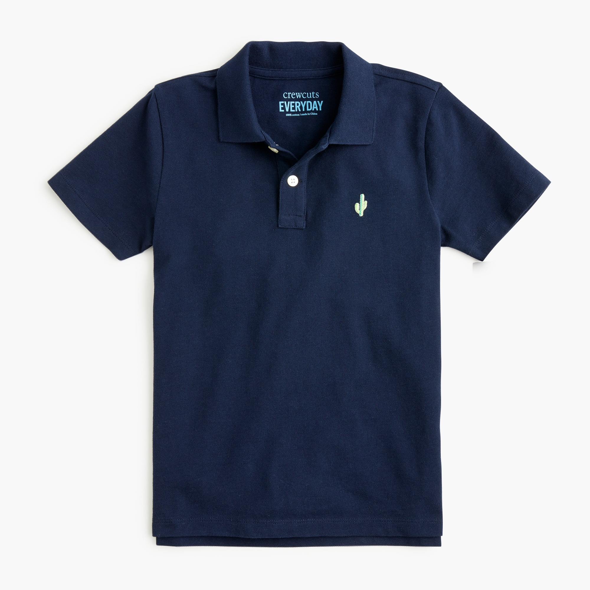 boys Boys' critter polo shirt