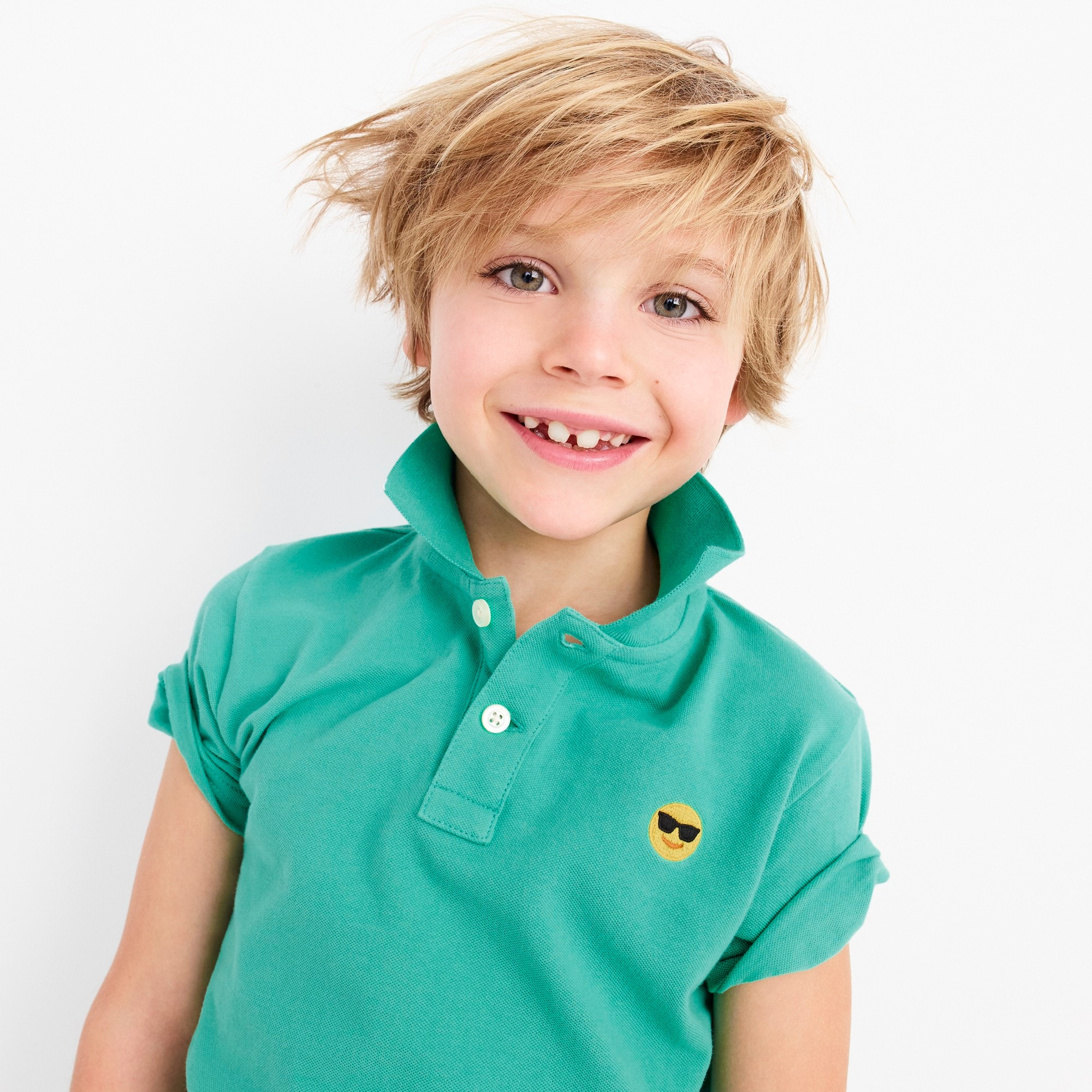 boys' critter polo shirt - boys' tees