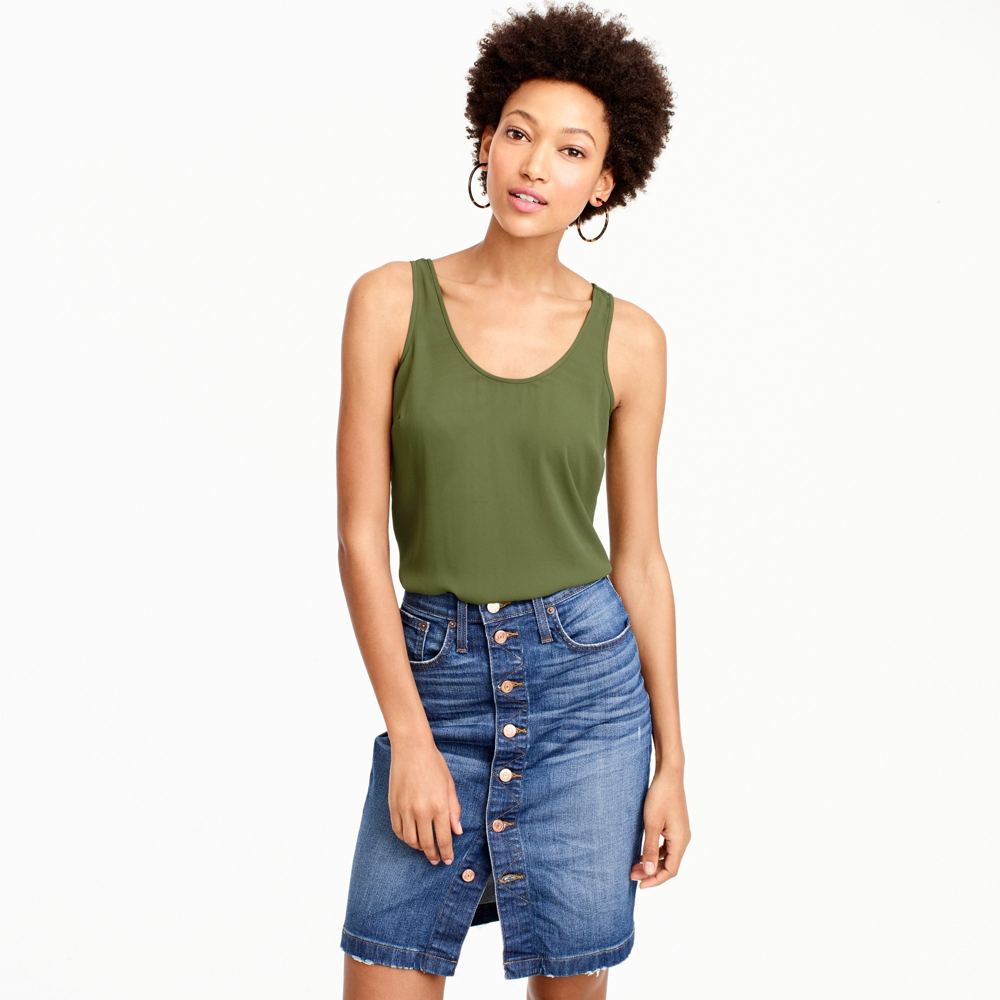 drapey tank top : women wear-to-work shop