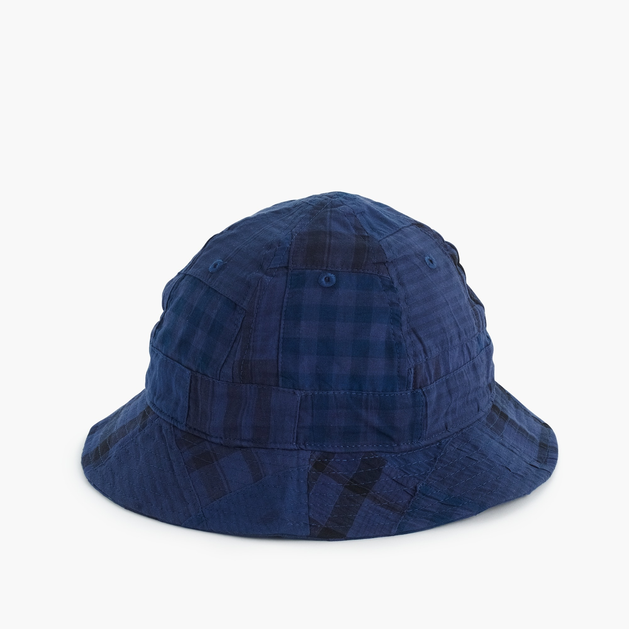 bucket hat in patchwork madras : men hats