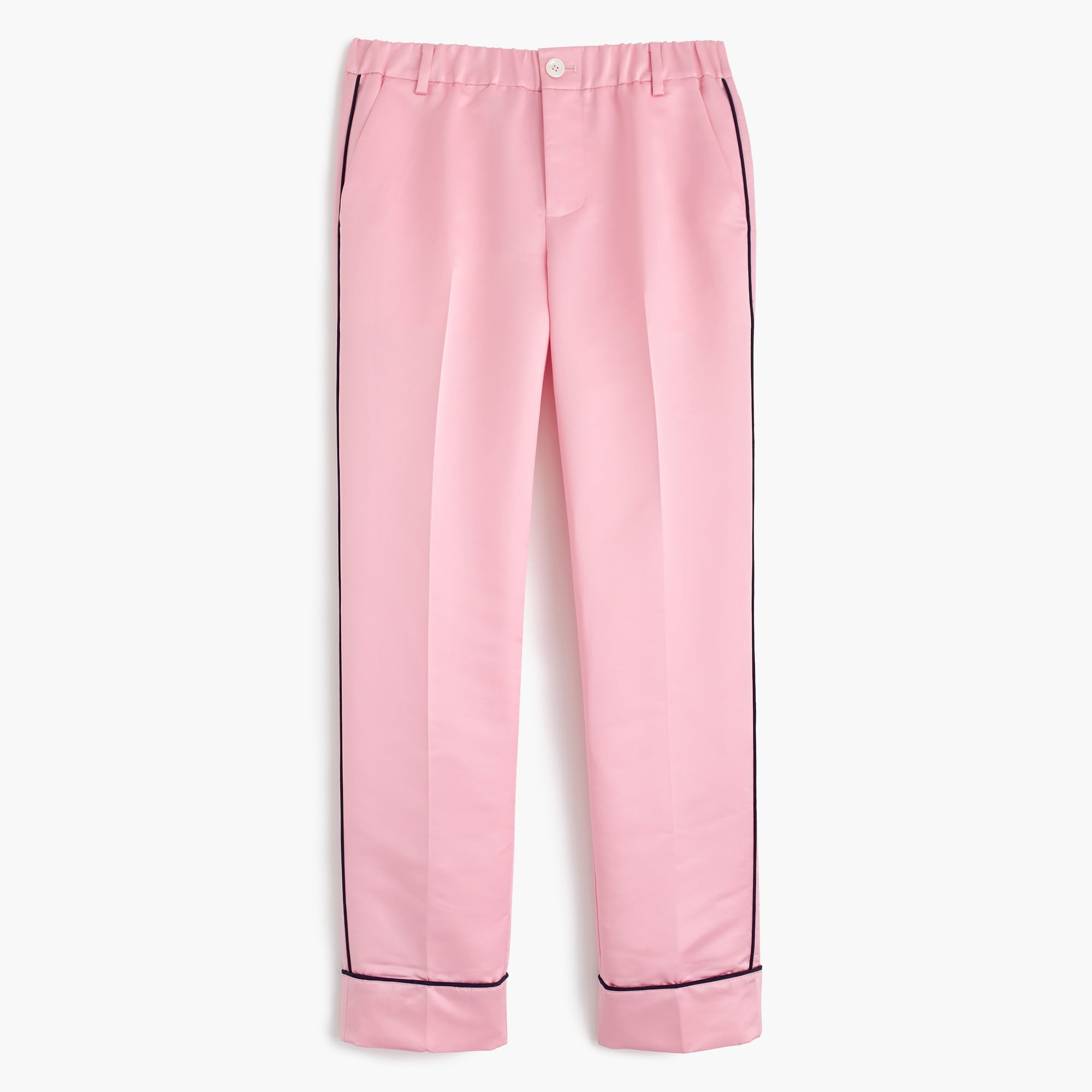 Satin pajama pants