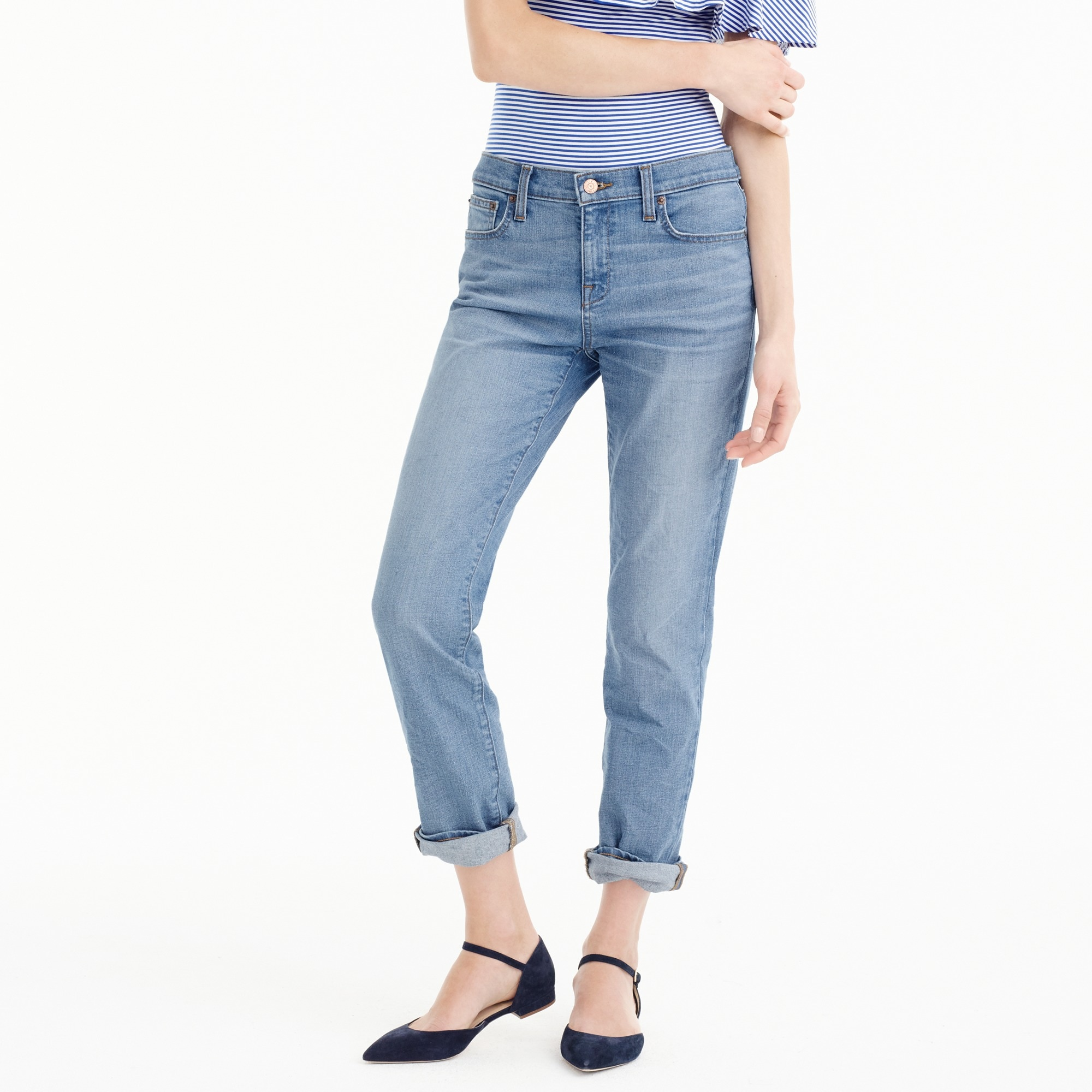 Slim boyfriend jean in Kellerton wash