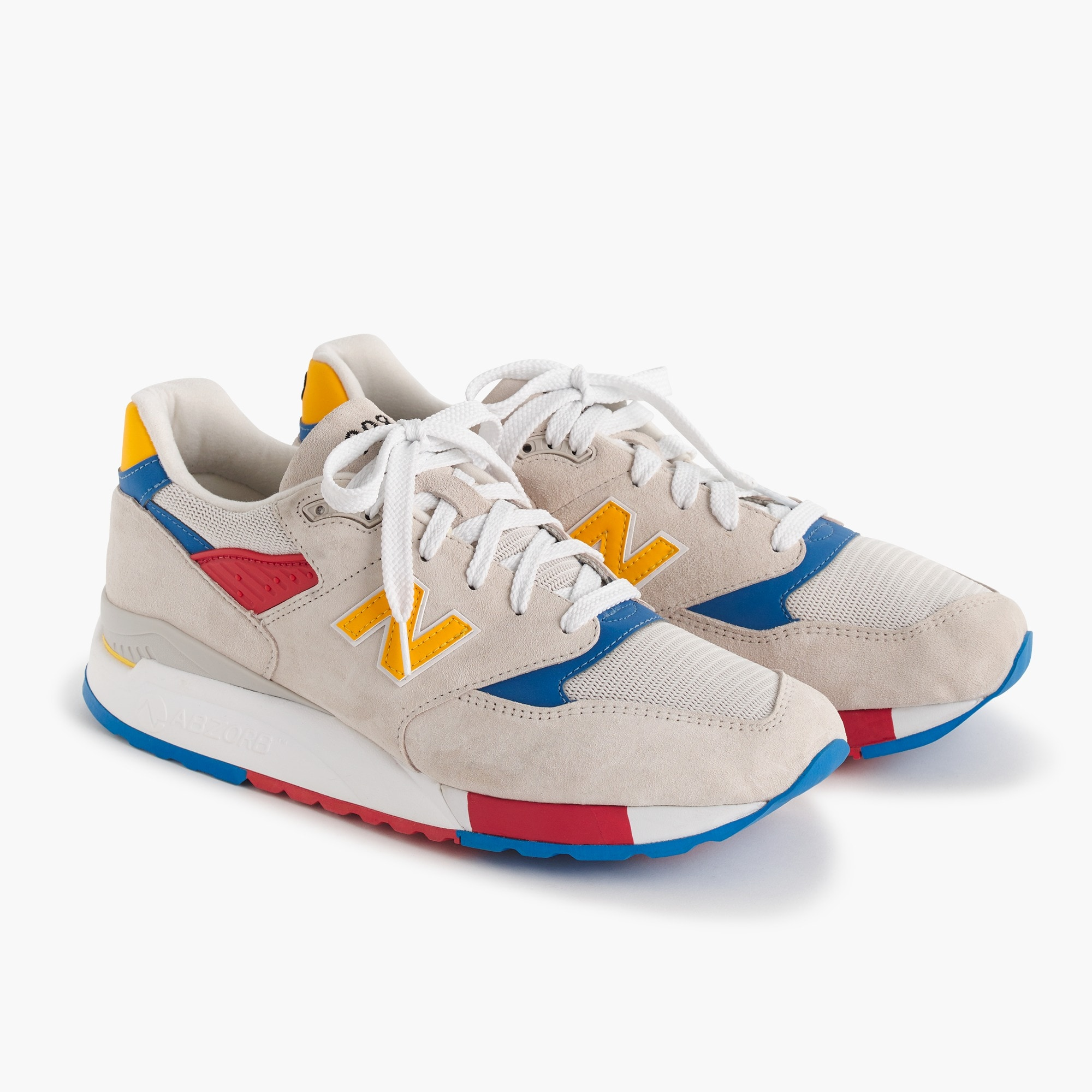 men's new balance® for j.crew 998 beach ball sneakers - men's footwear