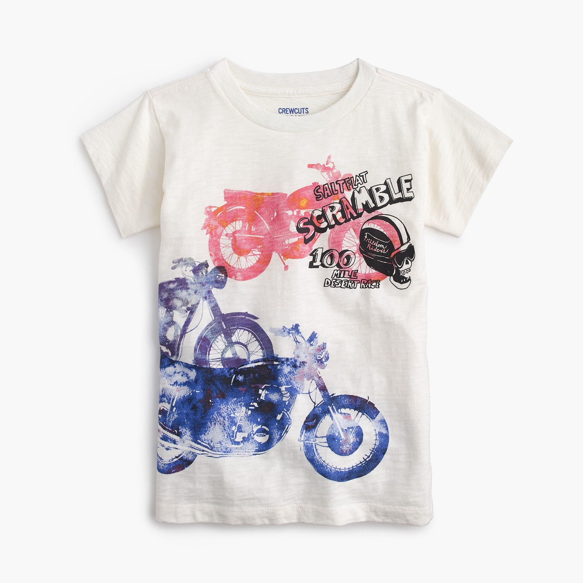 boys' watercolor motorcycle t-shirt : boy t-shirts & polos