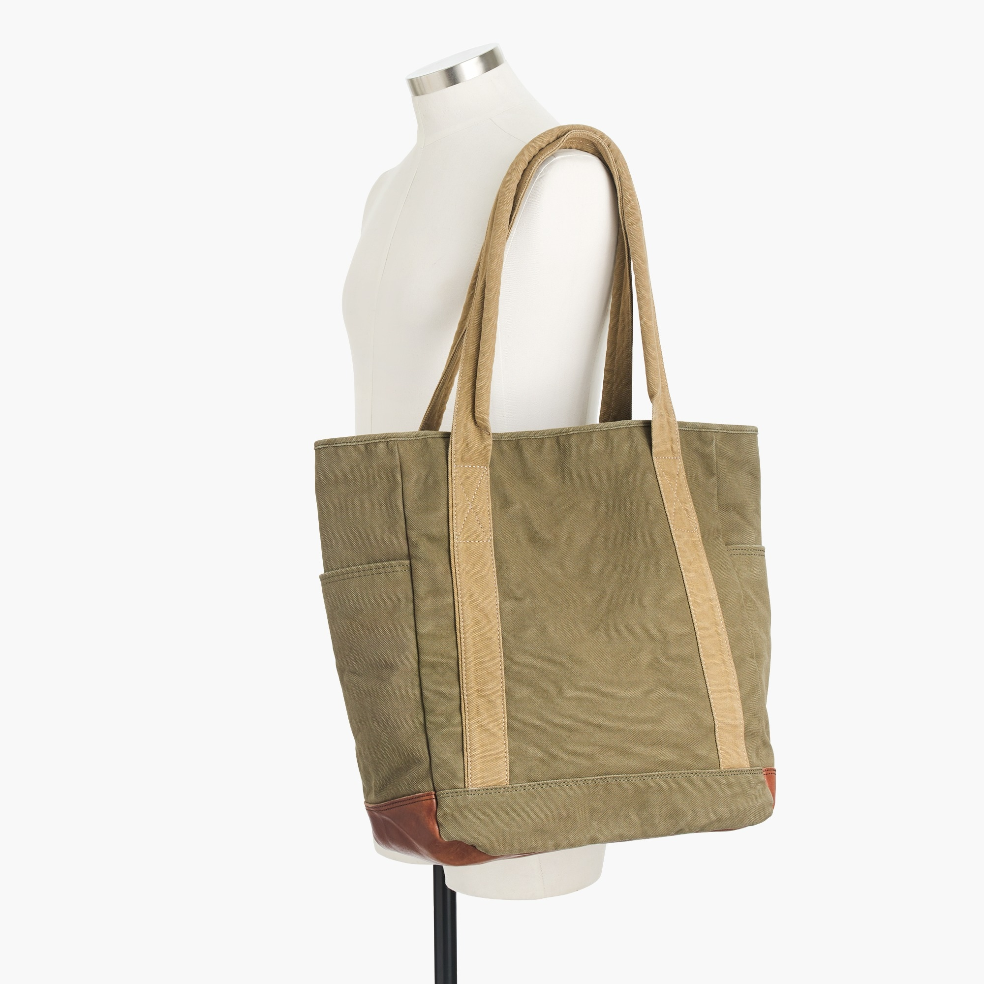 Image 3 for Wallace & Barnes canvas tote