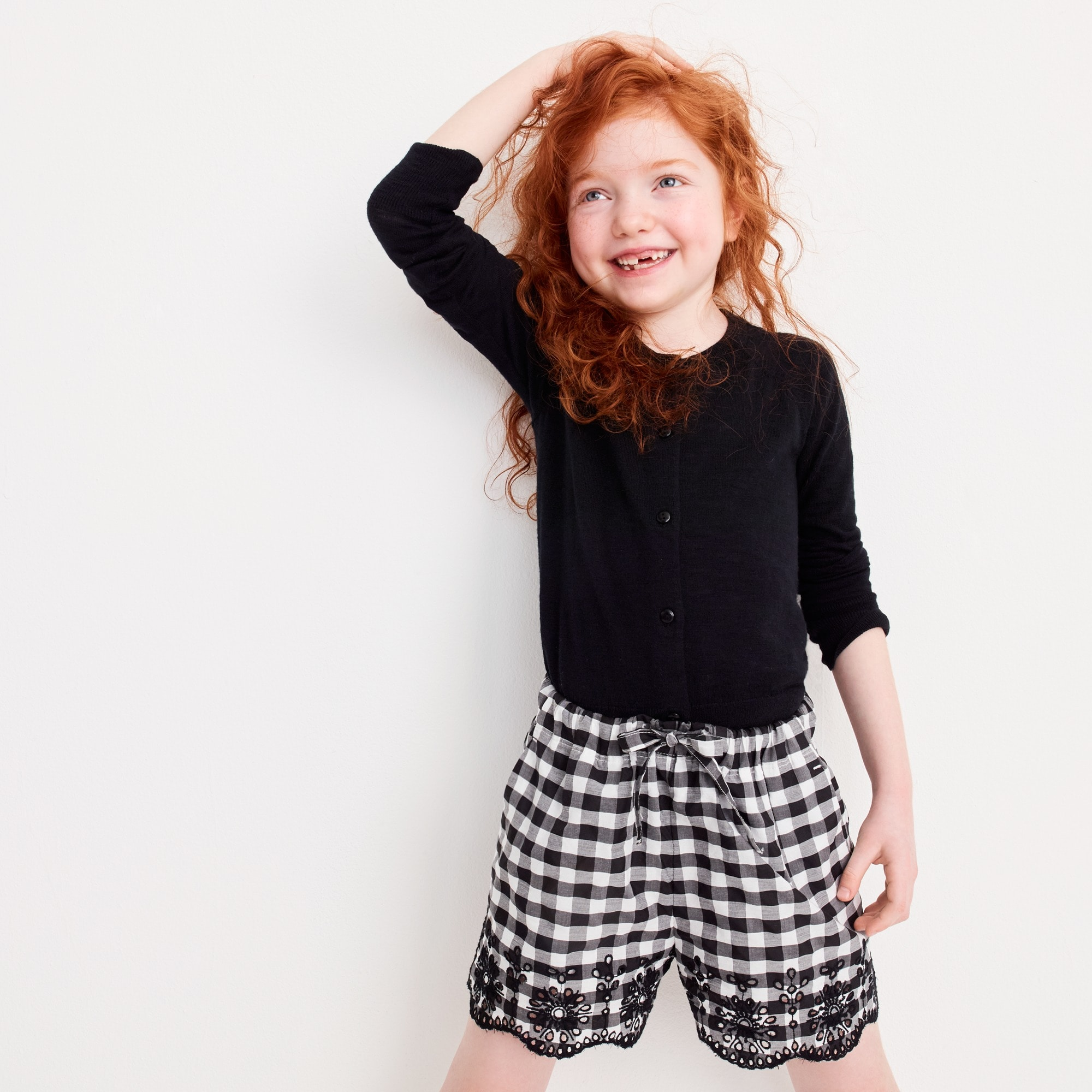 Image 1 for Girls' eyelet short