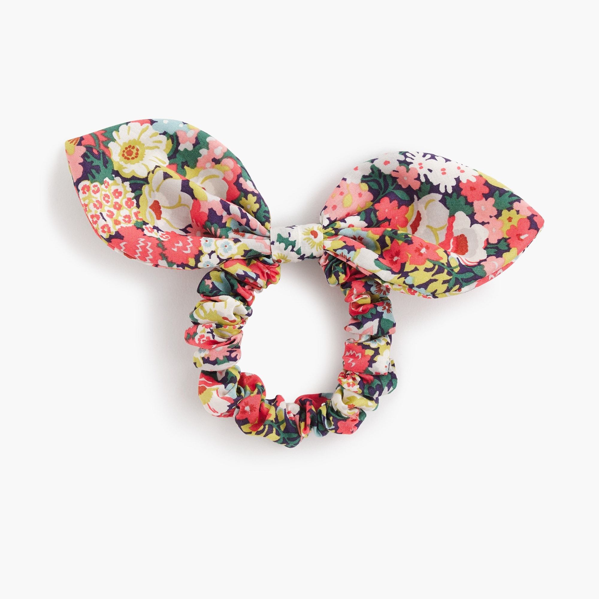 Bow hair tie in Liberty® Thorpe print women j.crew in good company c