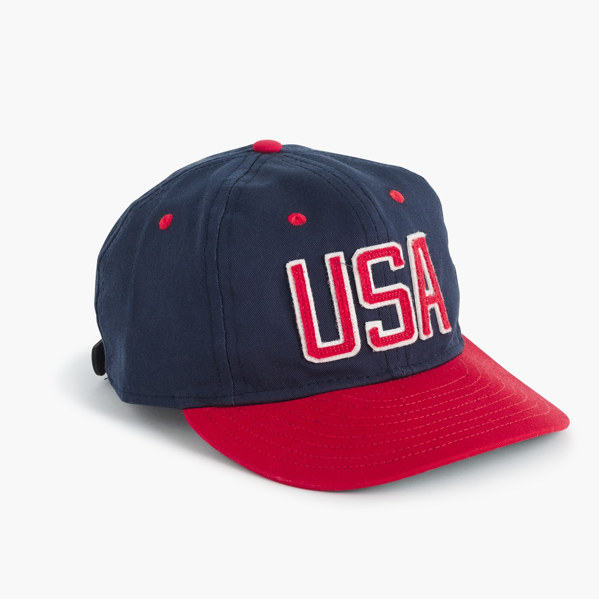 "ebbets field flannels® for j.crew ""usa"" ball cap : men accessories"