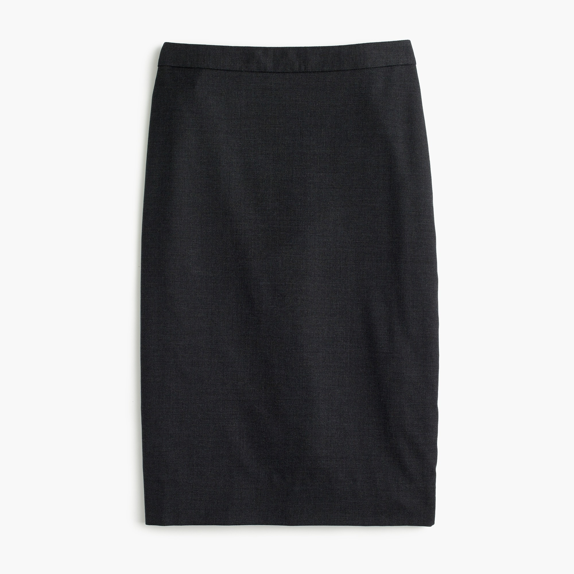 Petite pencil skirt in Italian Super 120s wool