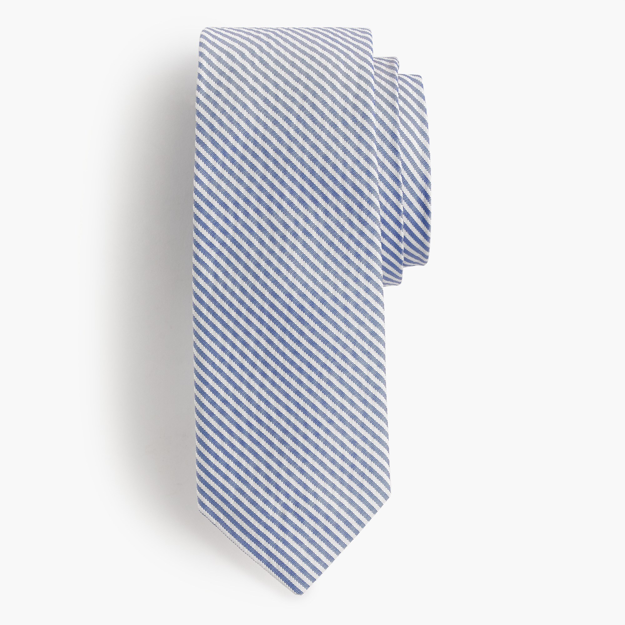 english silk tie in seersucker : men novelty