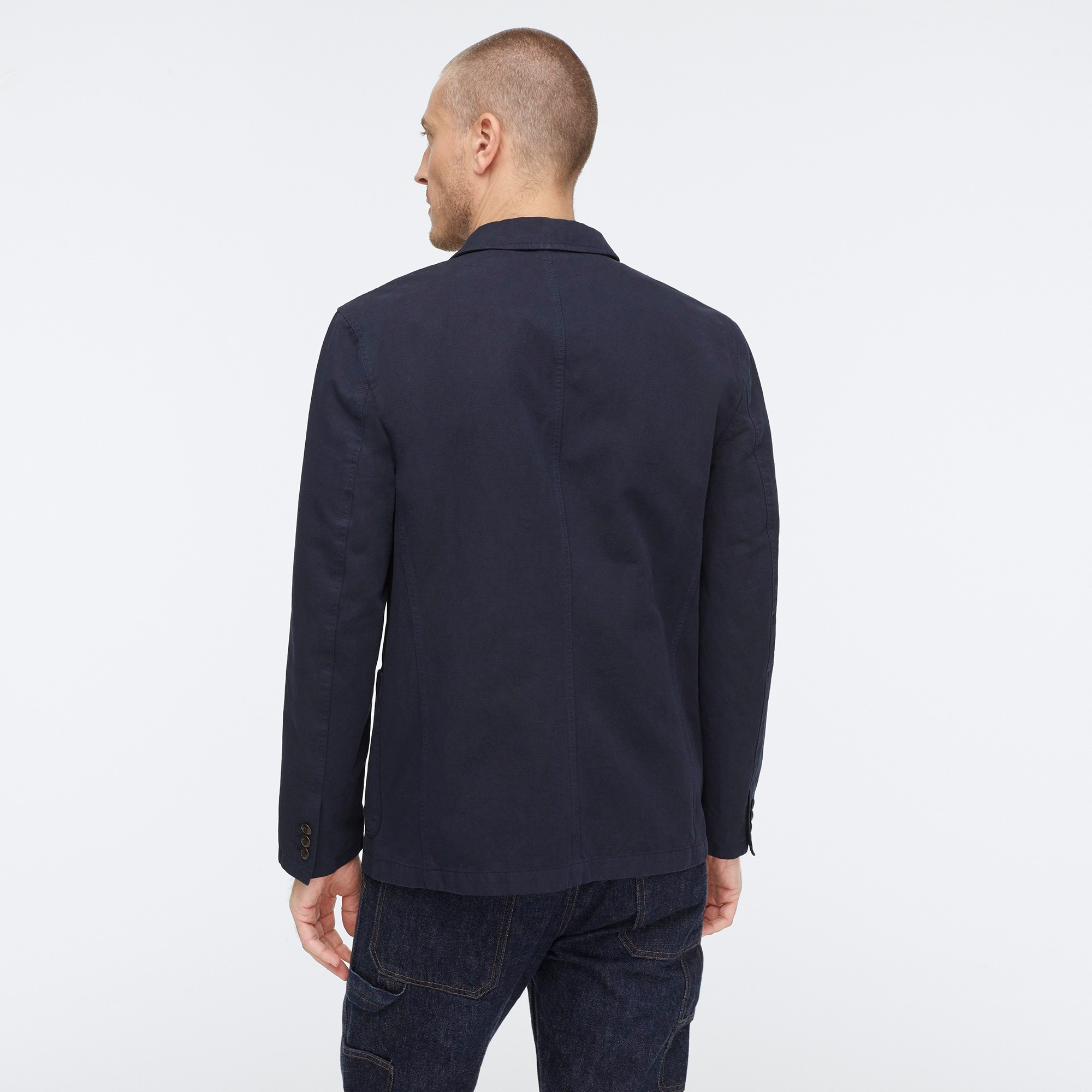 Image 2 for Wallace & Barnes garment-dyed chore blazer