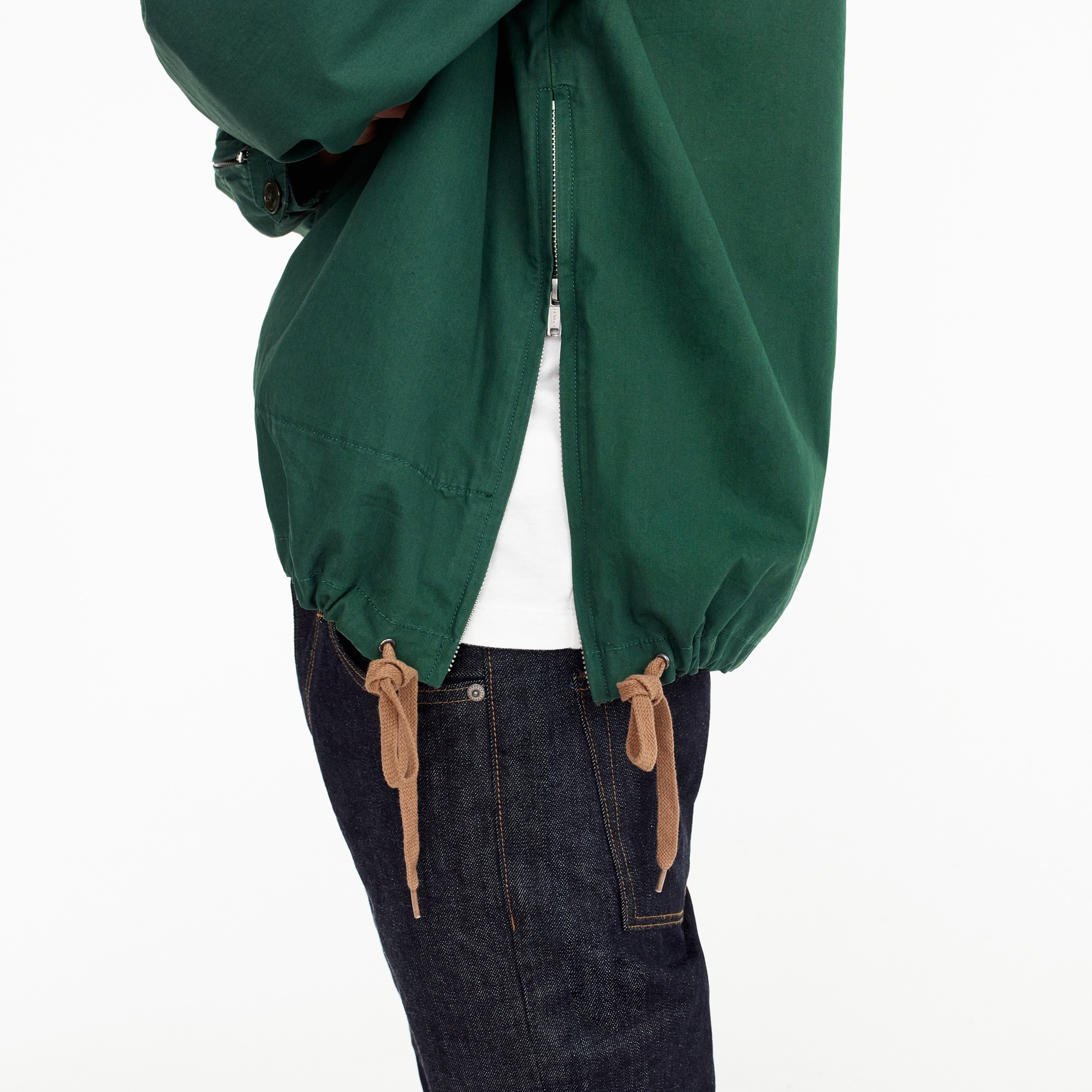 Image 3 for Unisex 1989 side-zip cotton anorak
