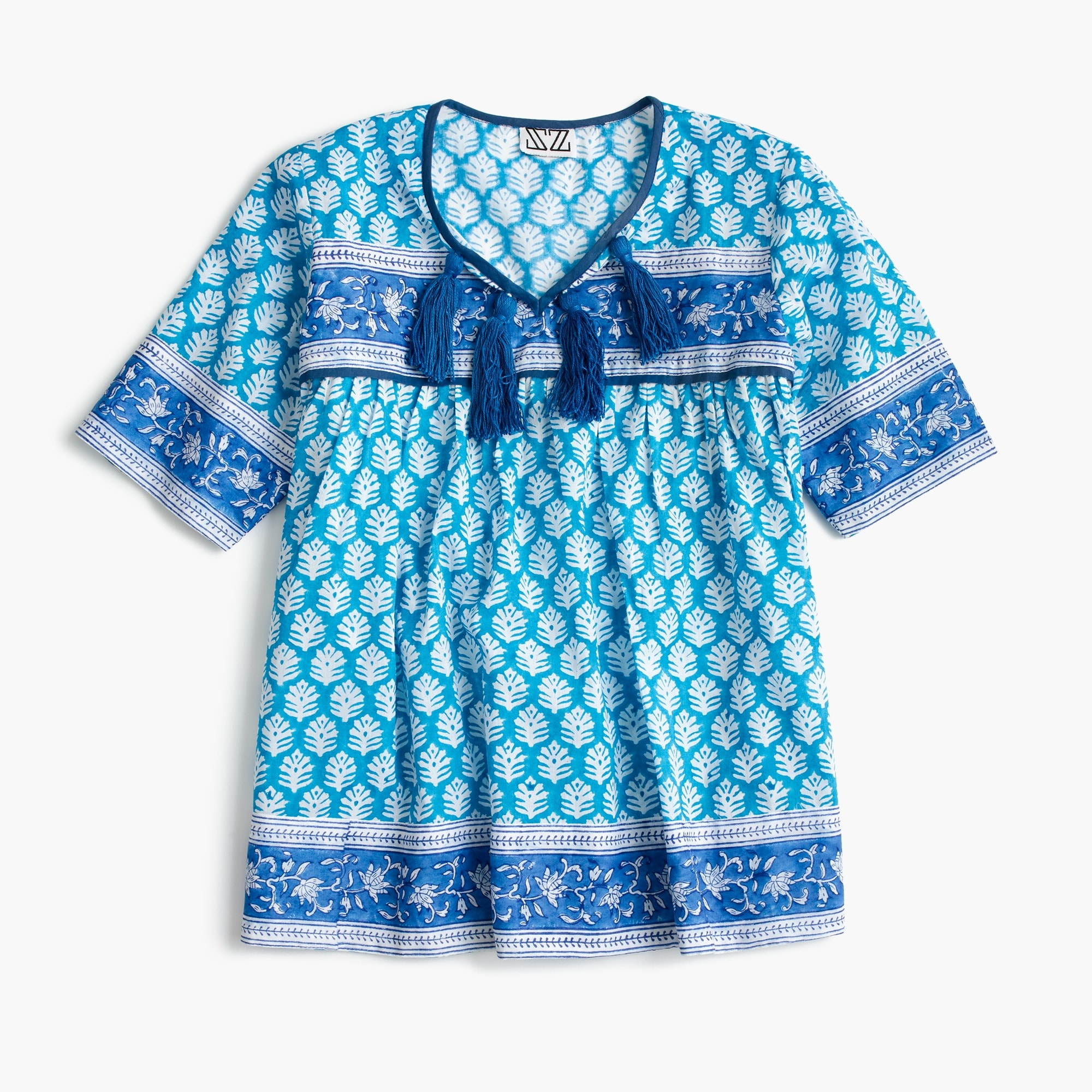 SZ Blockprints® for J.Crew kids' dress girl j.crew in good company c
