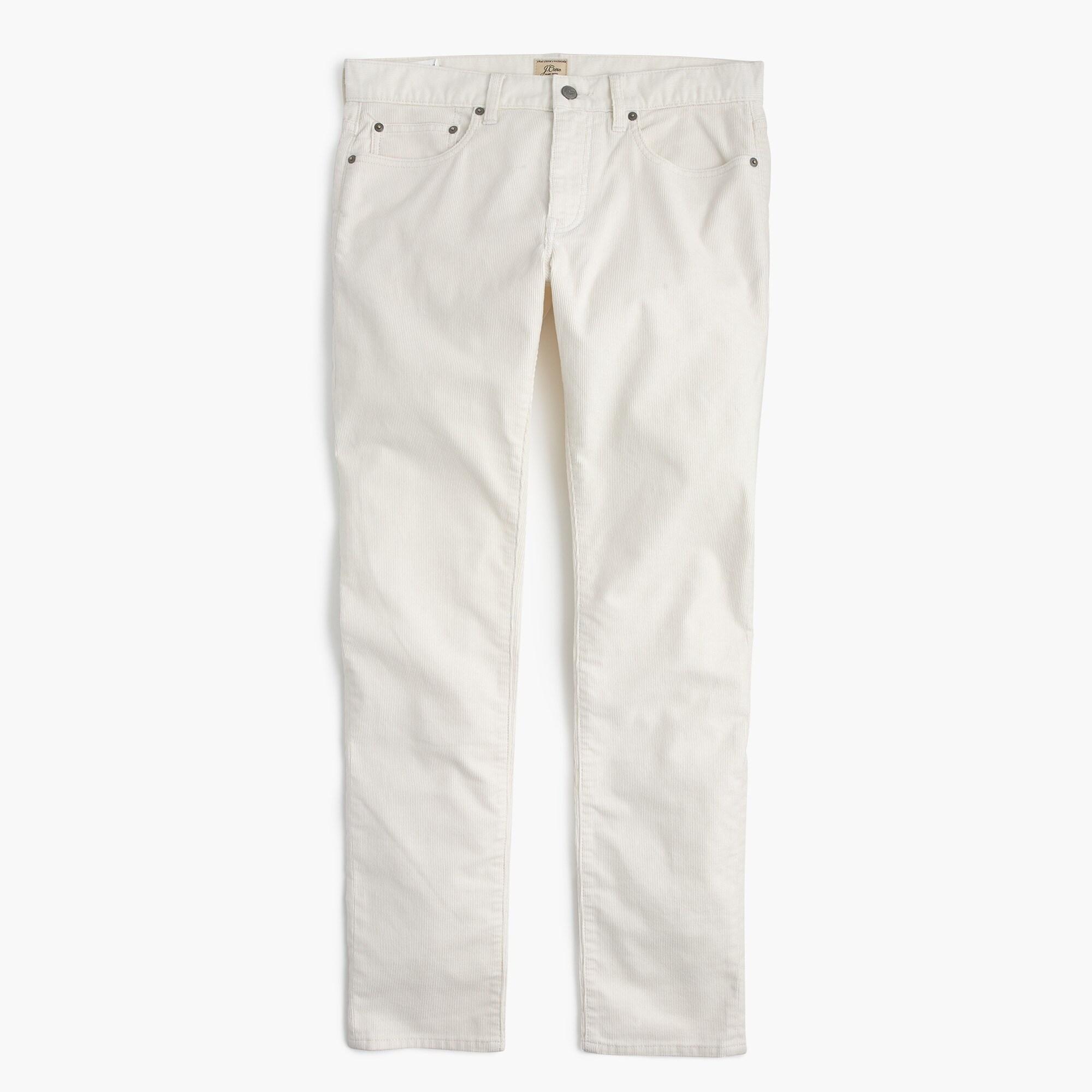 Mens White Corduroy Pants jzLw8Jwh