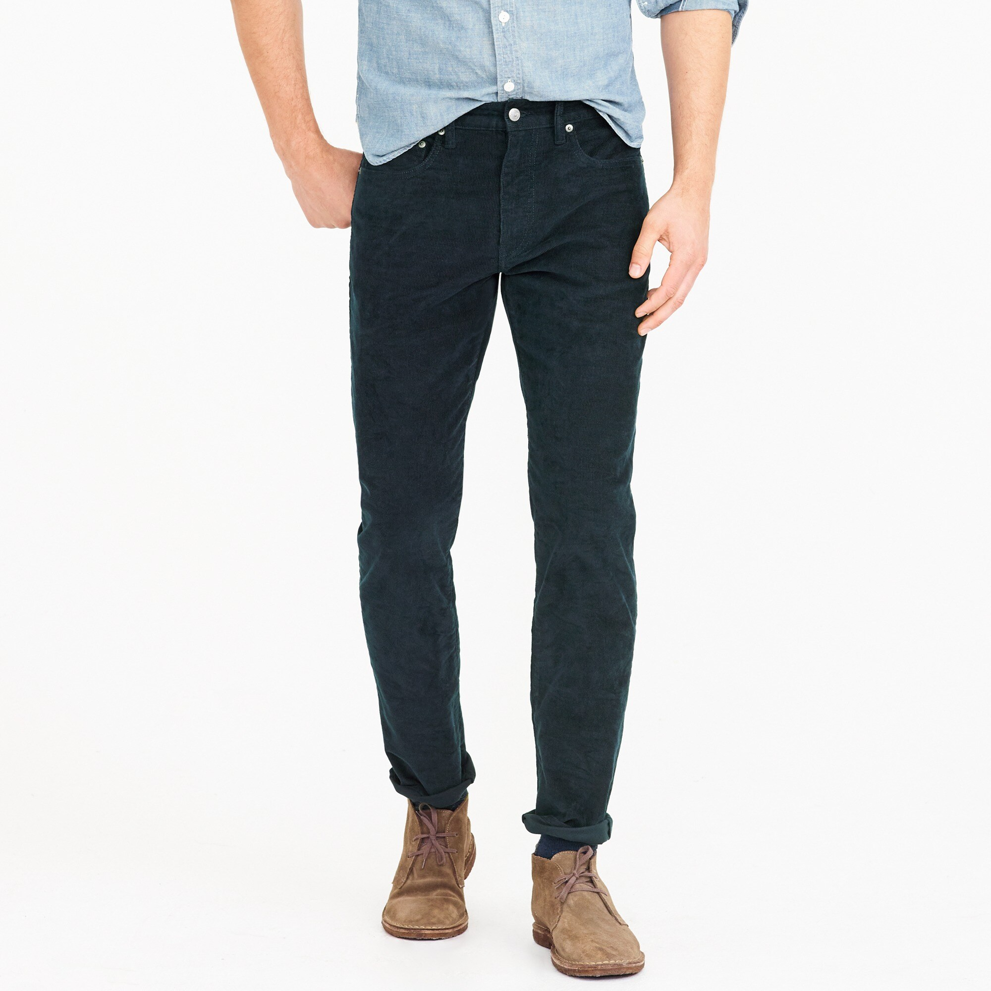 770 Straight-fit pant in corduroy men pants c