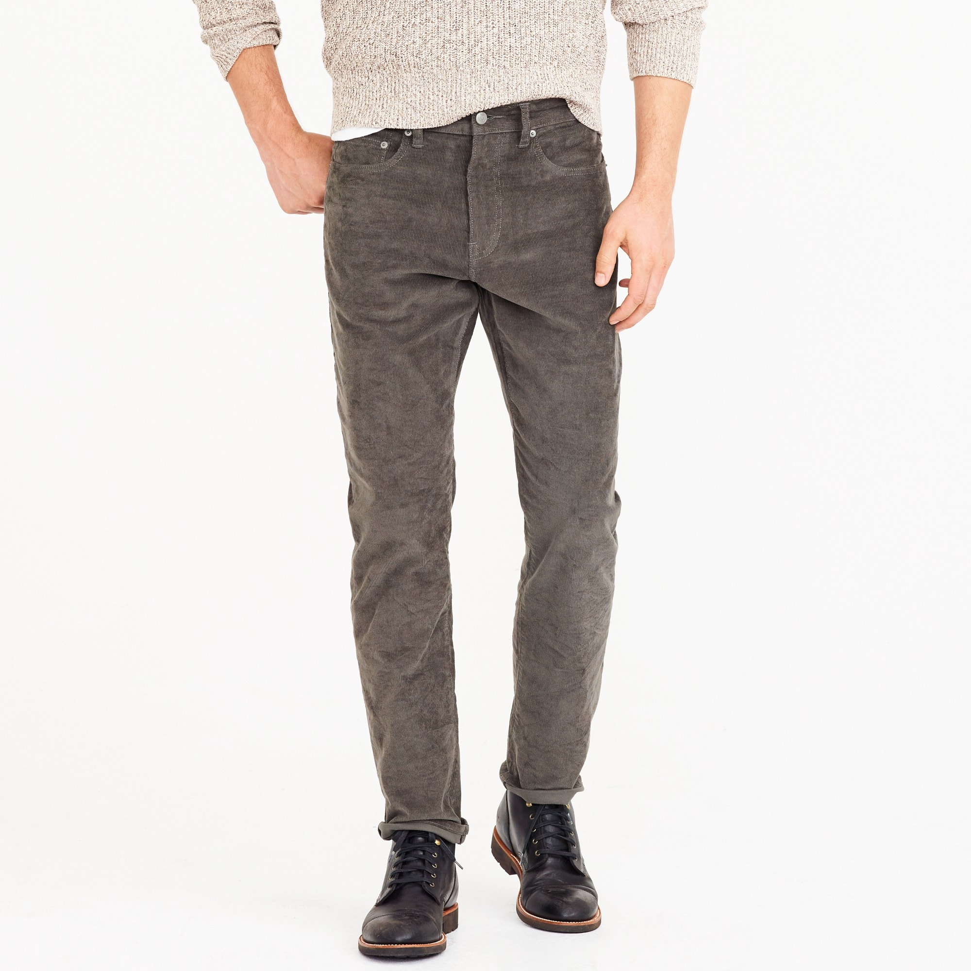 1040 Athletic-fit pant in corduroy men pants c