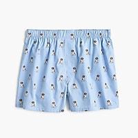 St. Bernard dog print boxers