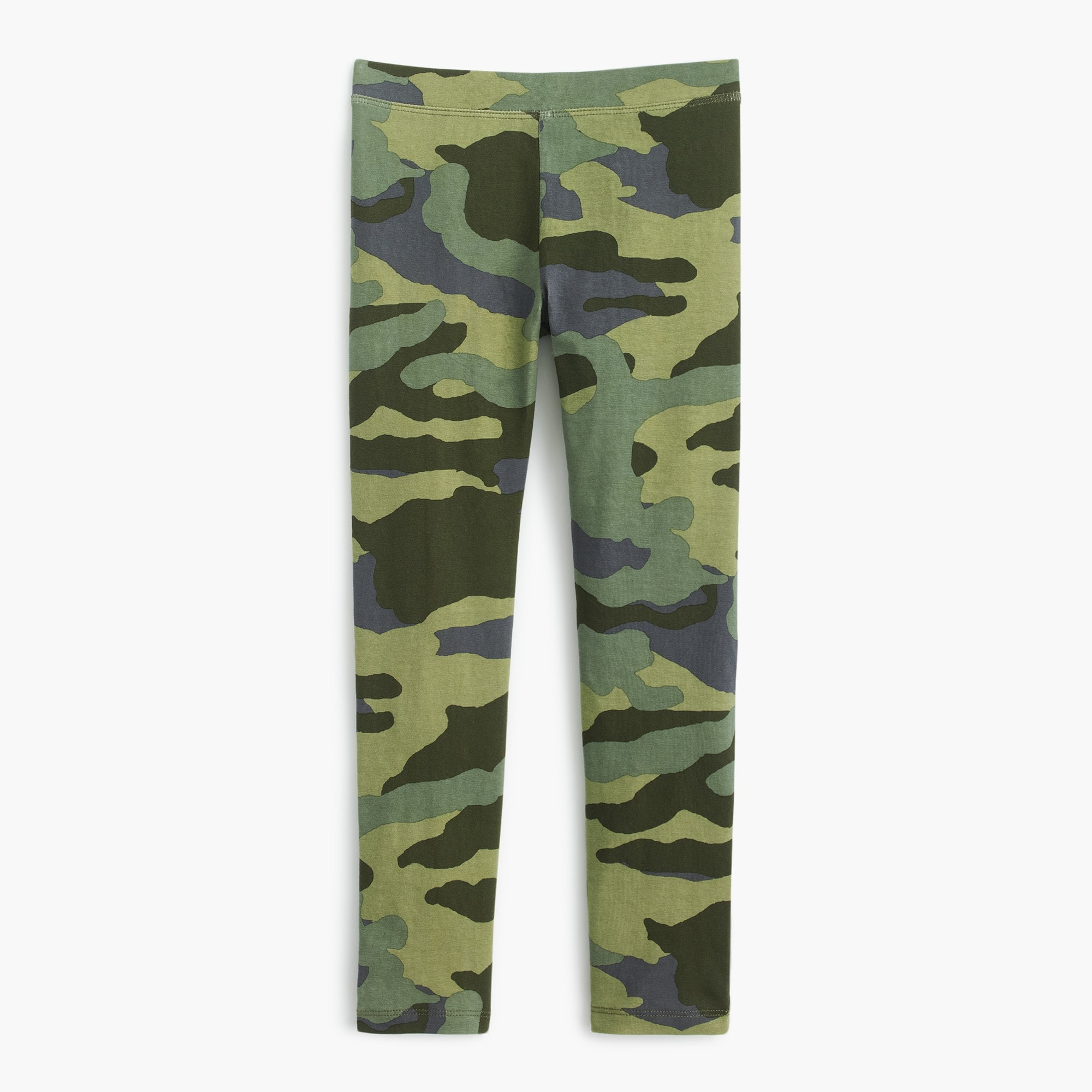 Image 1 for Girls' everyday camo leggings