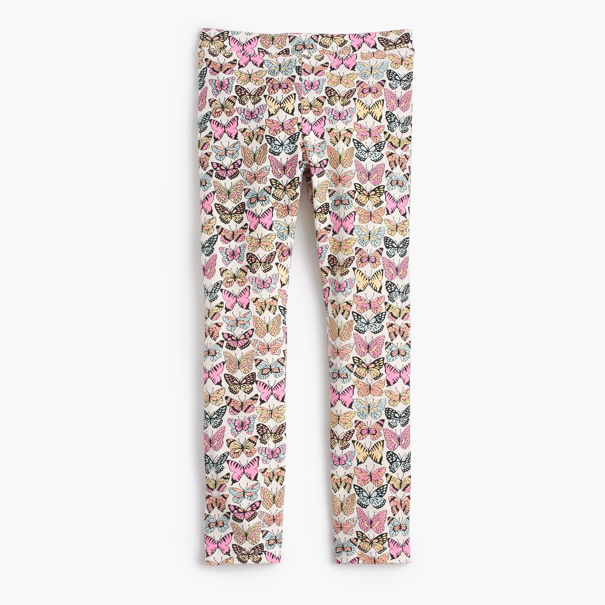 girls' everyday leggings in butterflies : girl full length