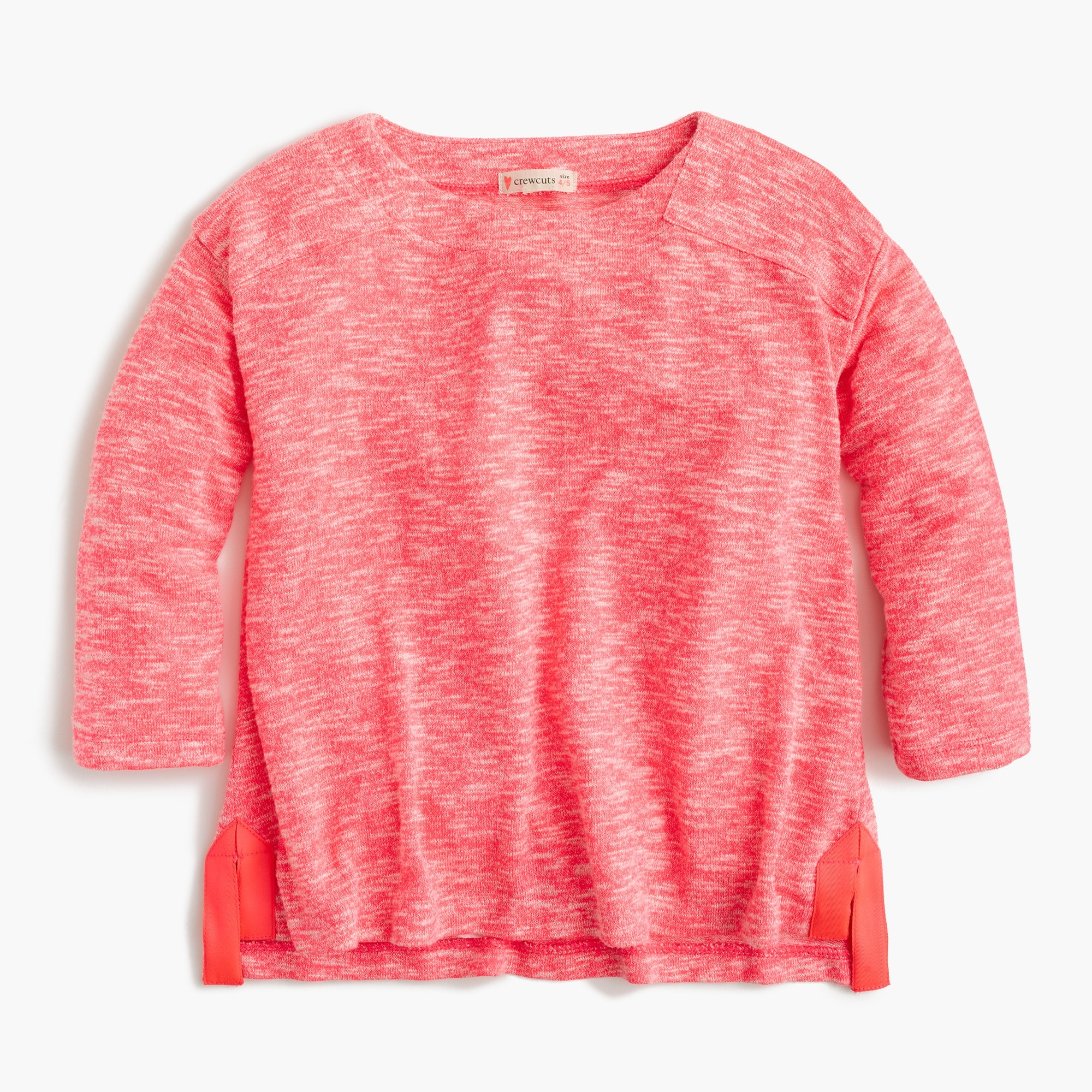 girls' marled t-shirt - girls' tees
