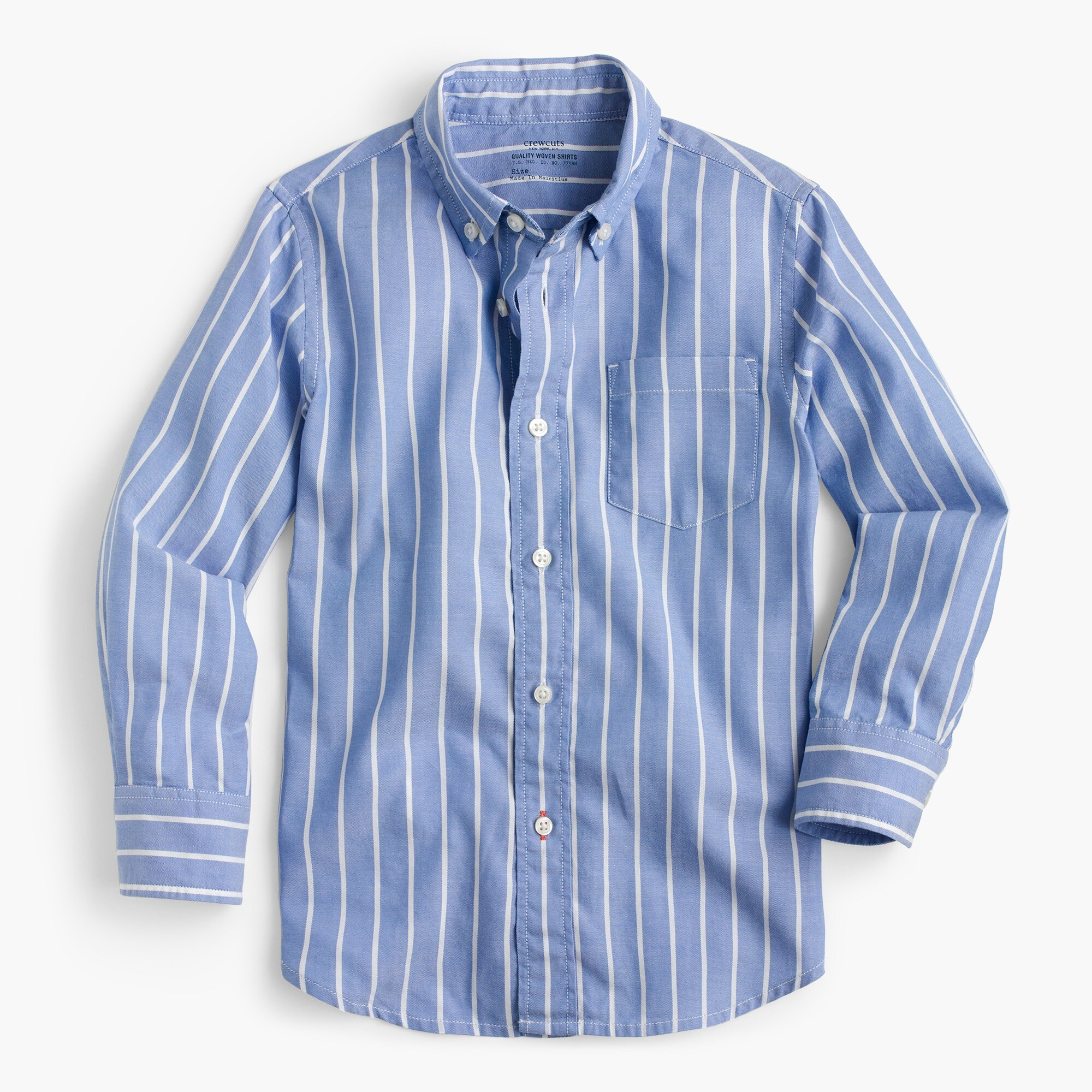 Image 1 for Kids' oxford shirt in classic stripe