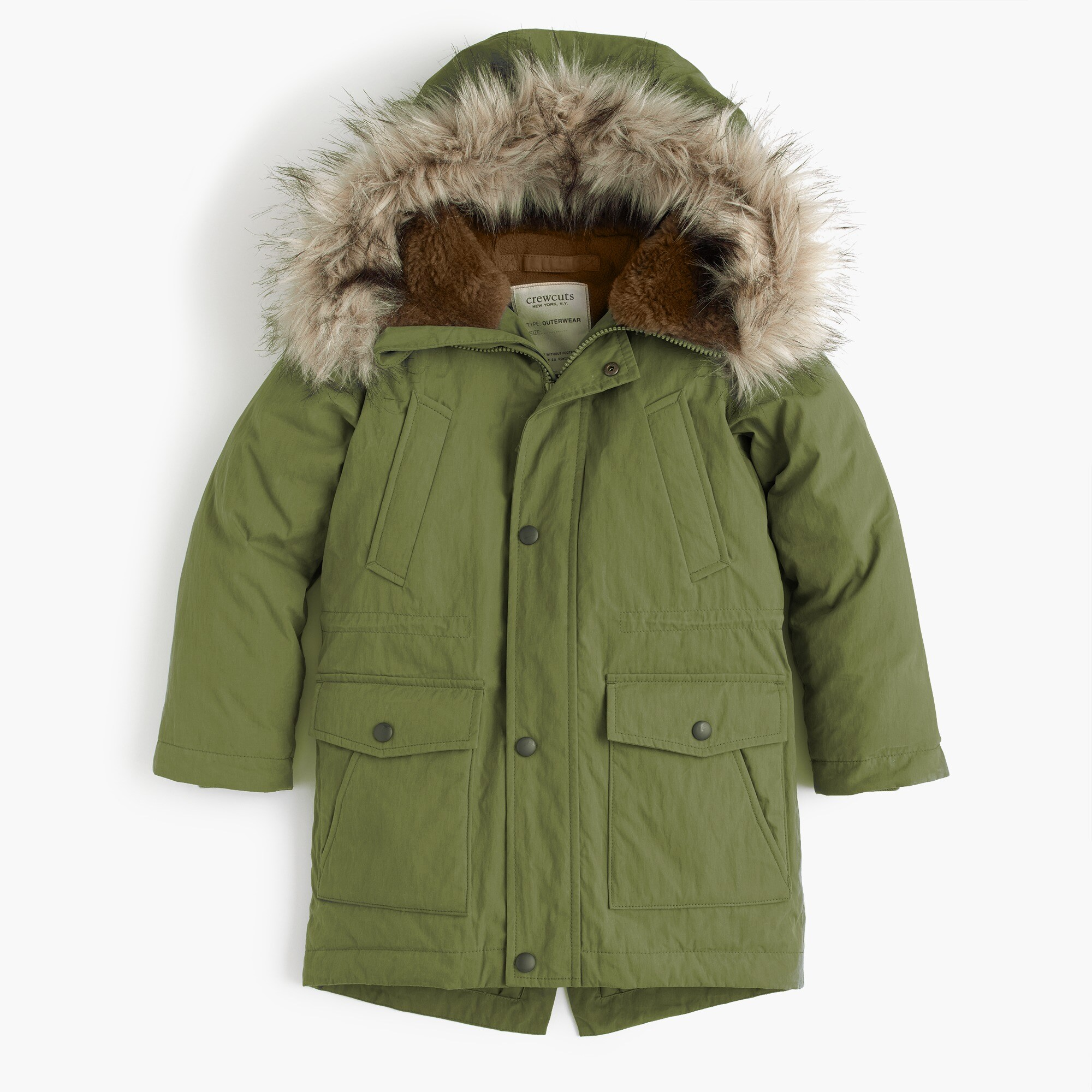 Boys' fishtail parka boy coats & jackets c