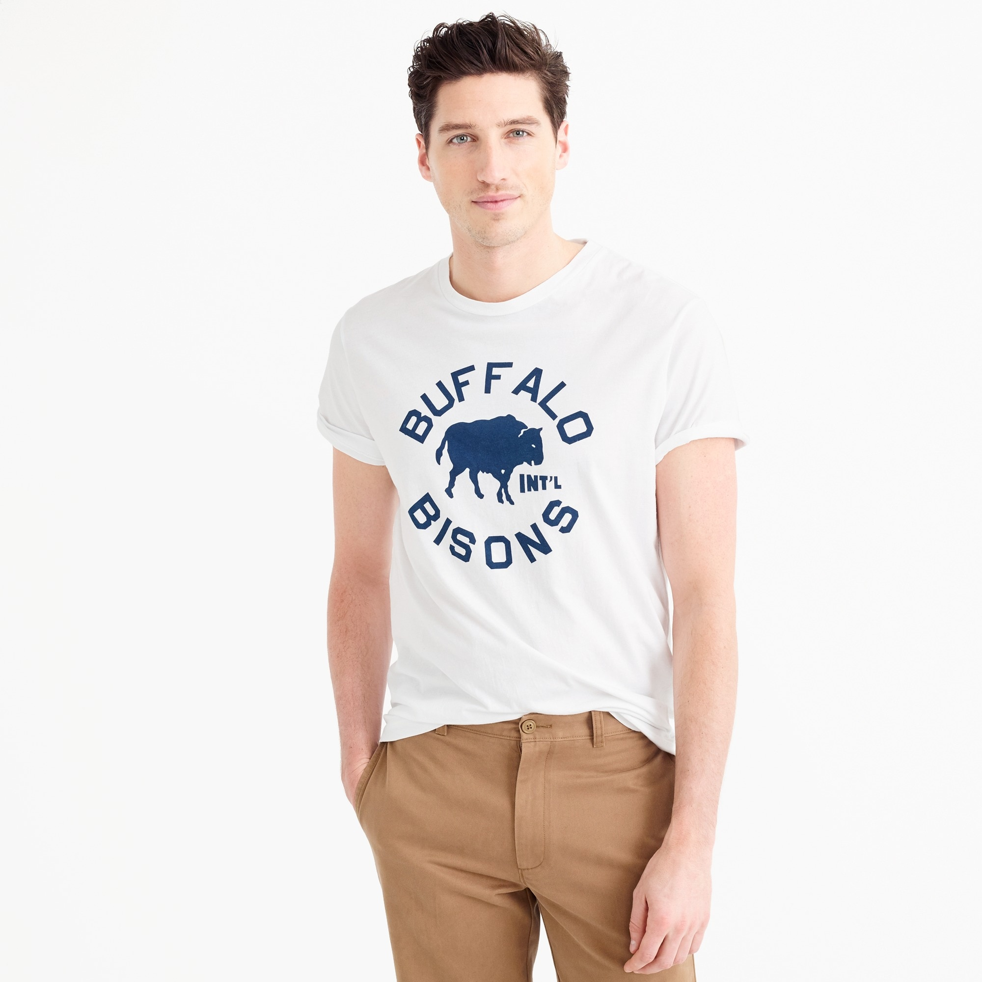 Ebbets Field Flannels® for J.Crew Buffalo Bisons T-shirt