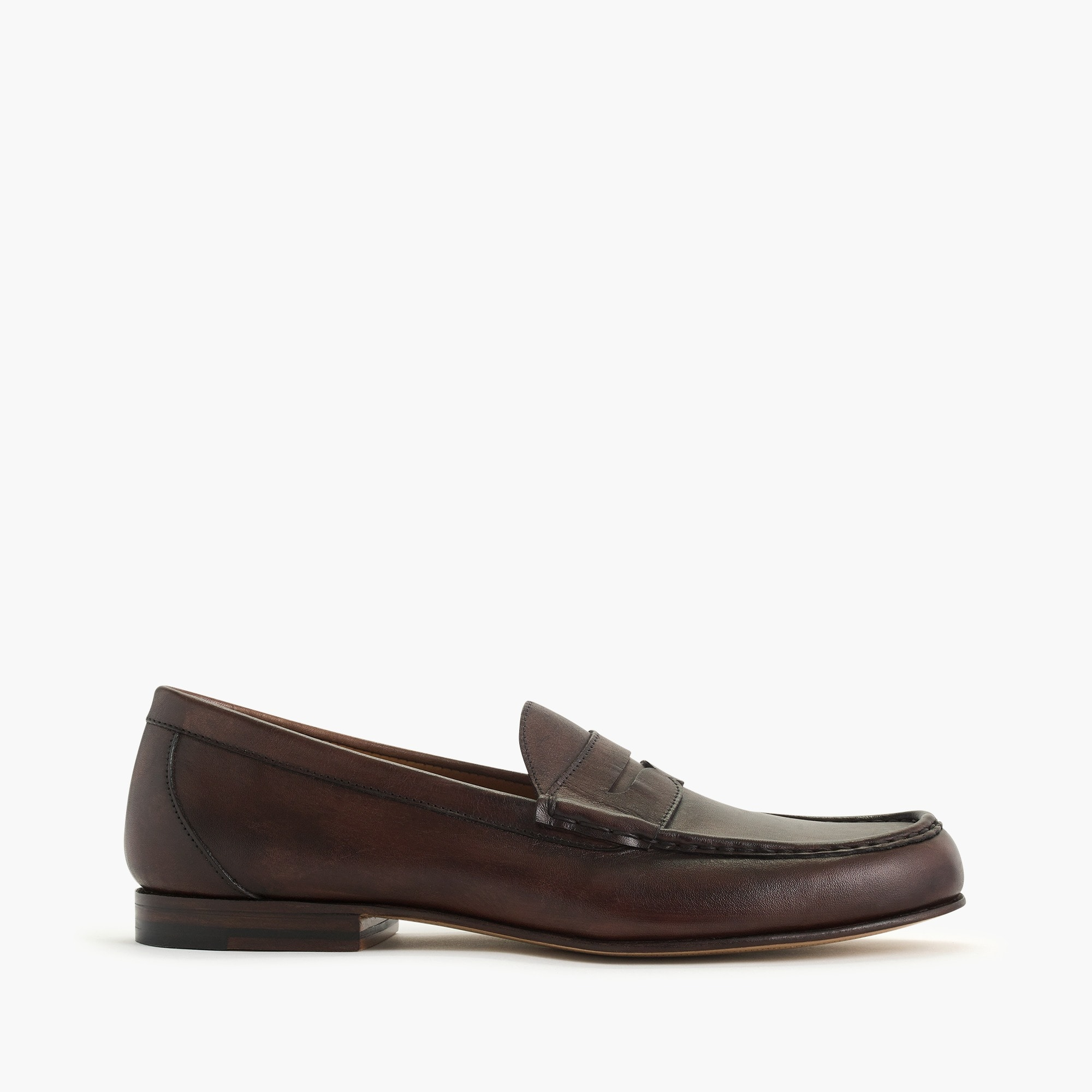 Image 1 for Ludlow Italian leather penny loafers