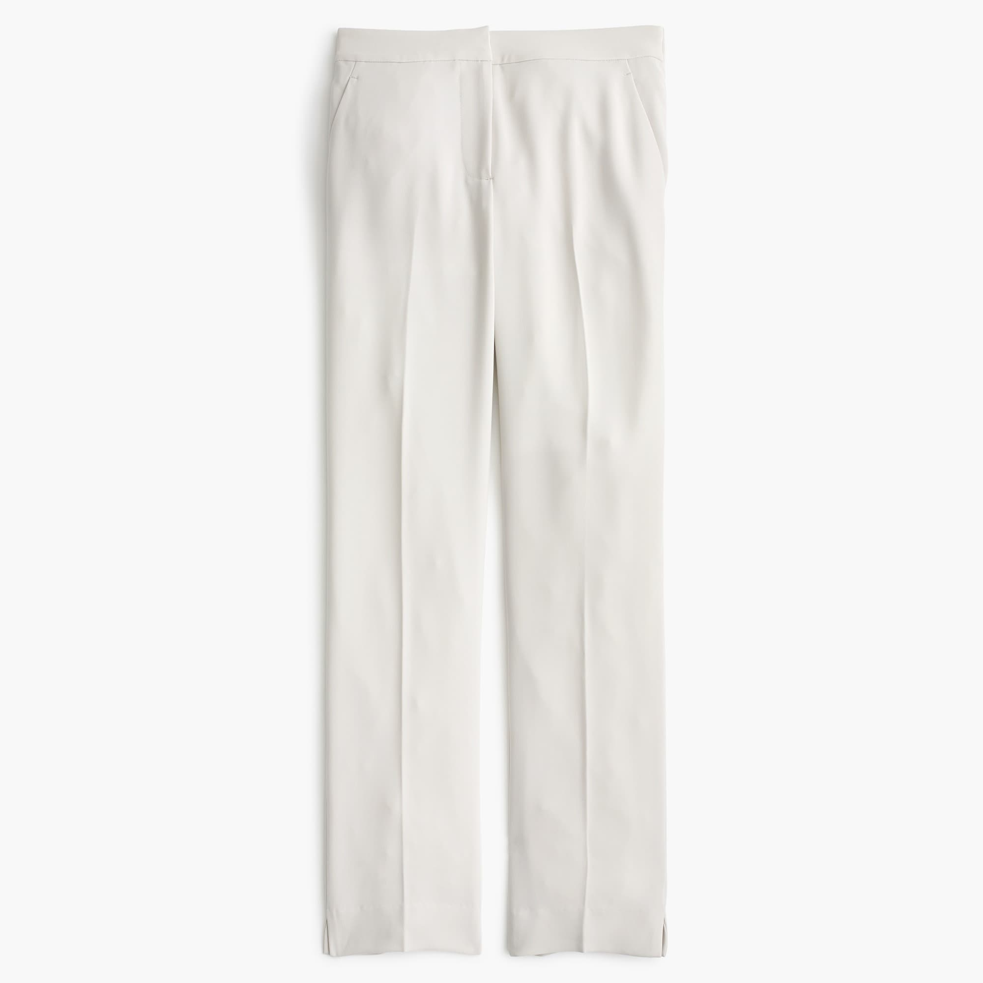 tall pull-on easy pant in matte crepe - women's pants