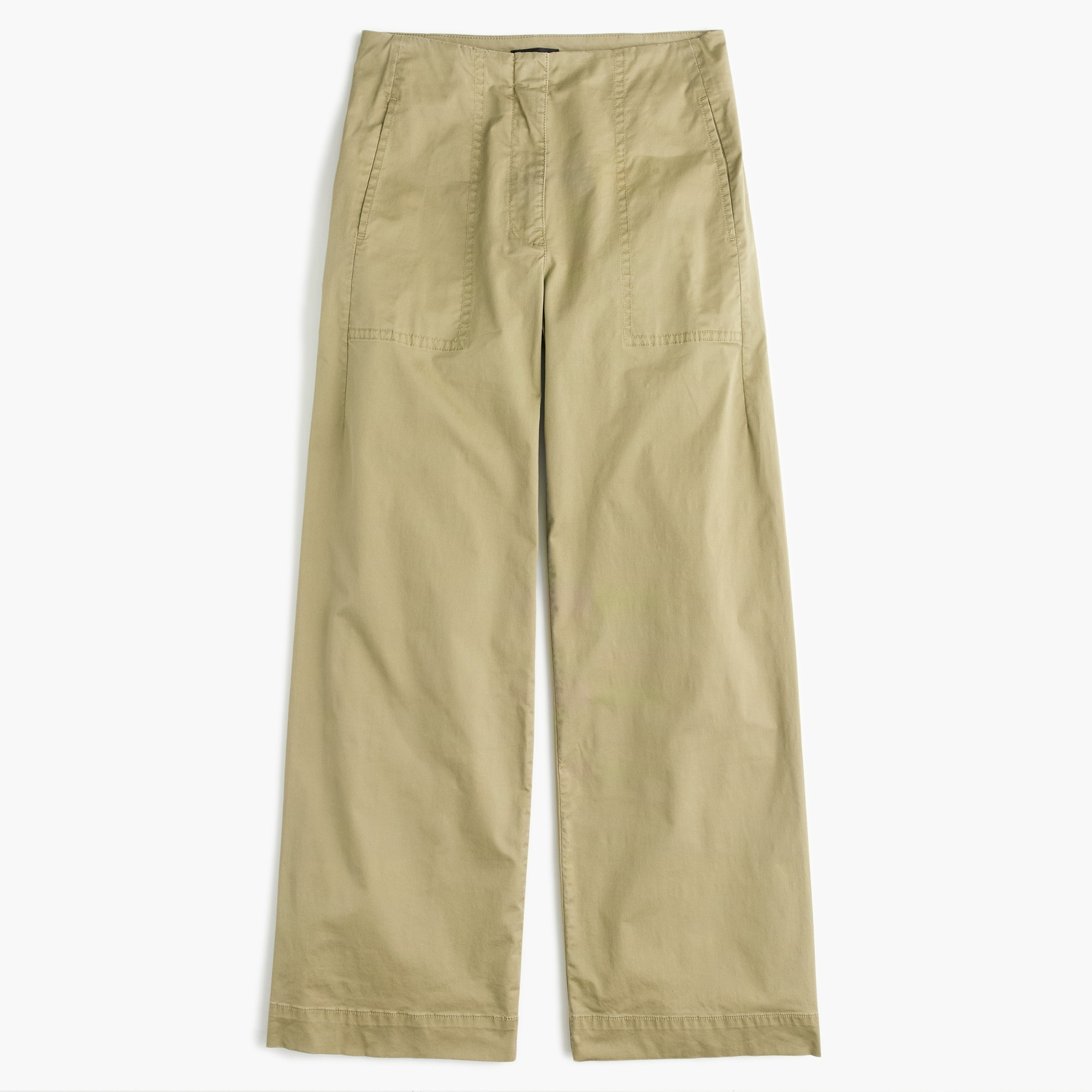 Image 2 for Cropped pant in stretch chino