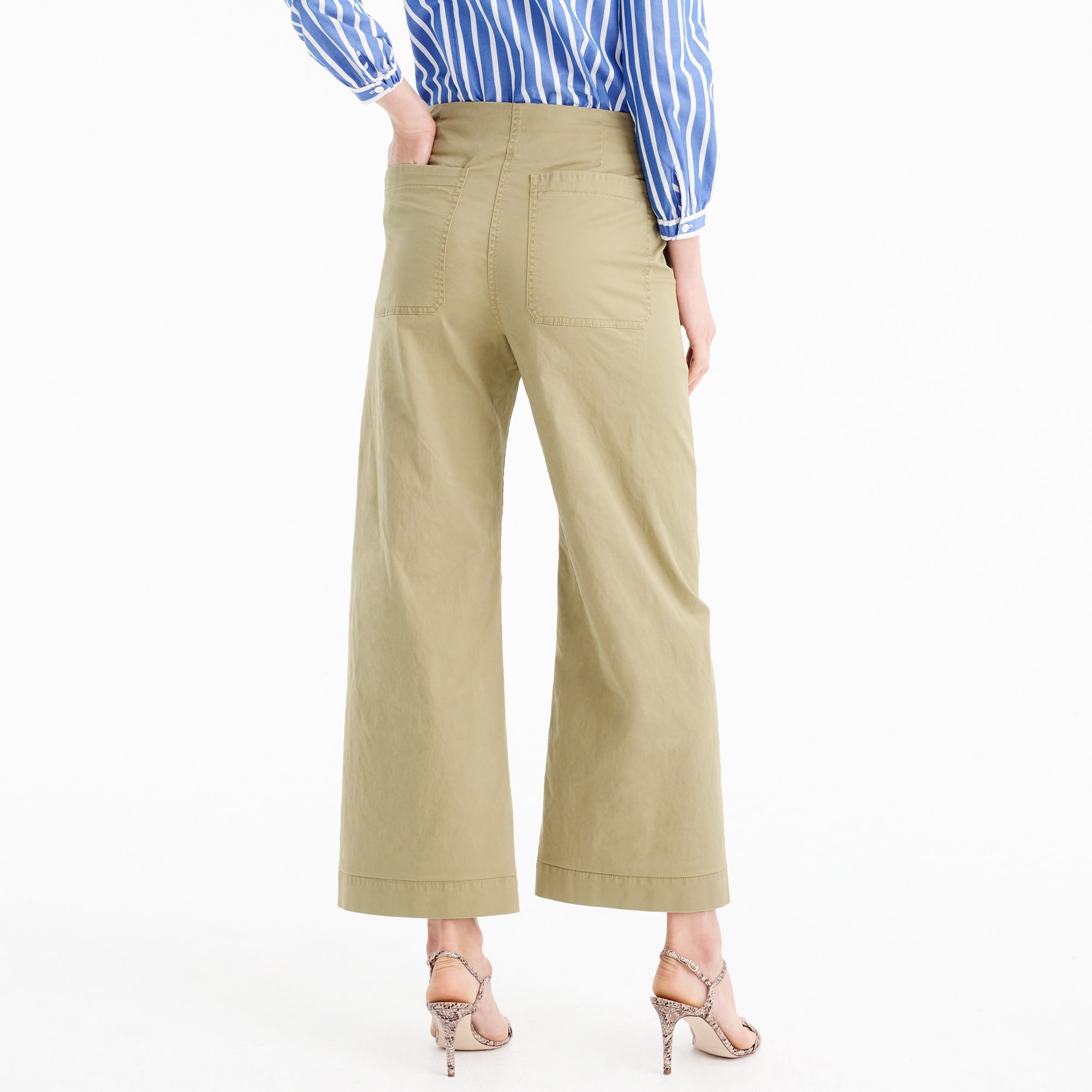 Image 3 for Cropped pant in stretch chino