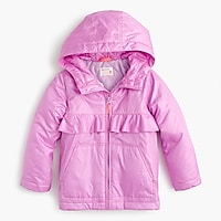 Girls' ruffle jacket