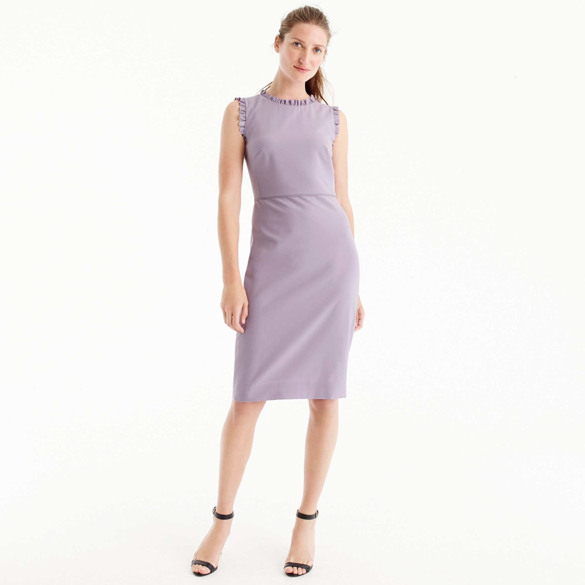 Image 1 for Ruffle-trim dress