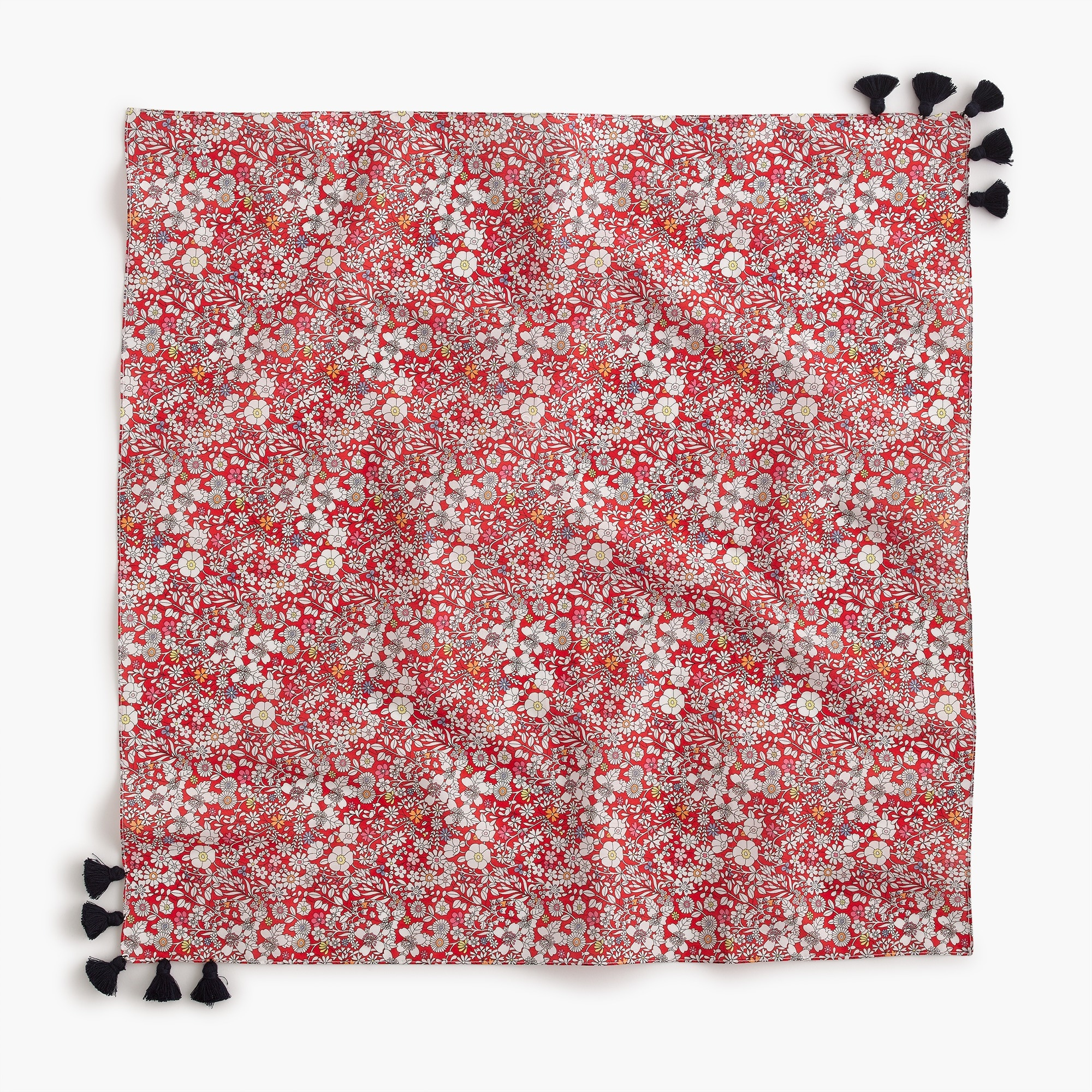 Bandana in Liberty® red meadow floral