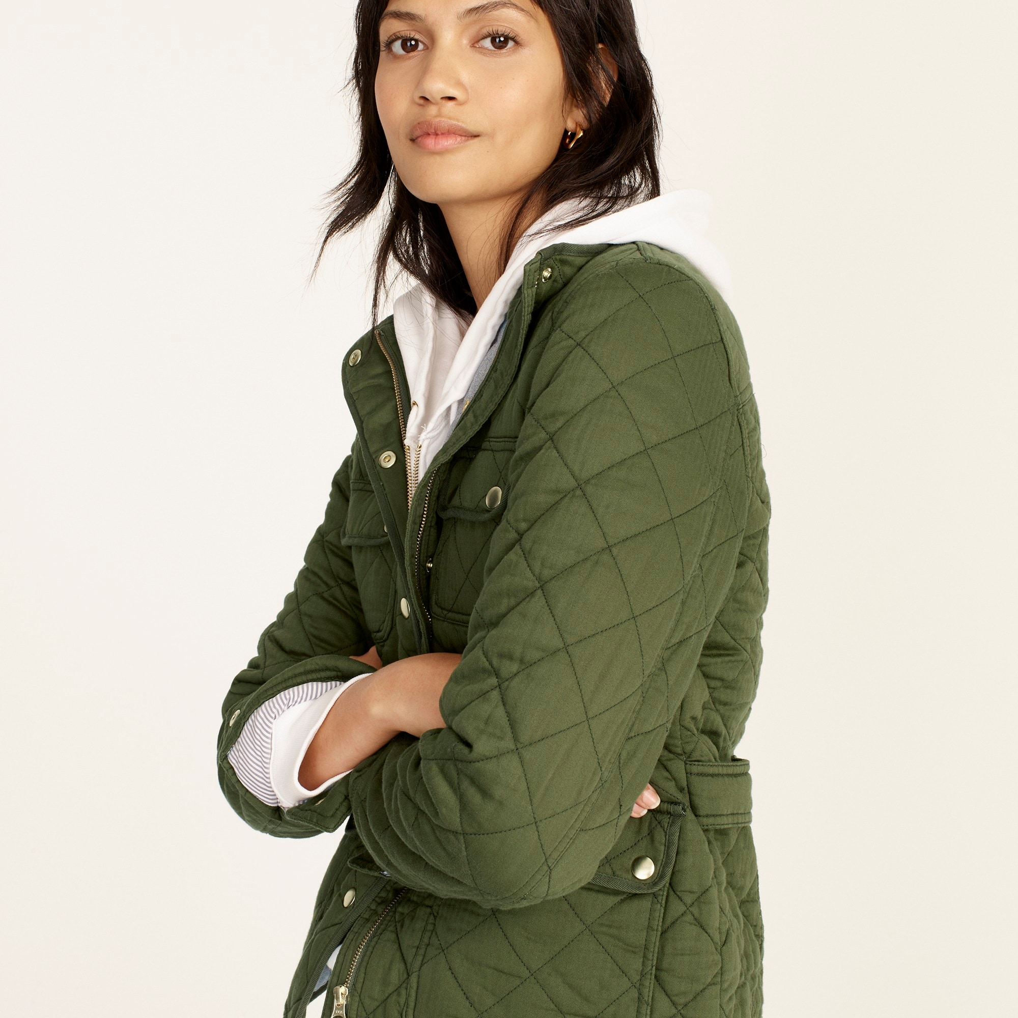 Image 2 for Quilted downtown field jacket