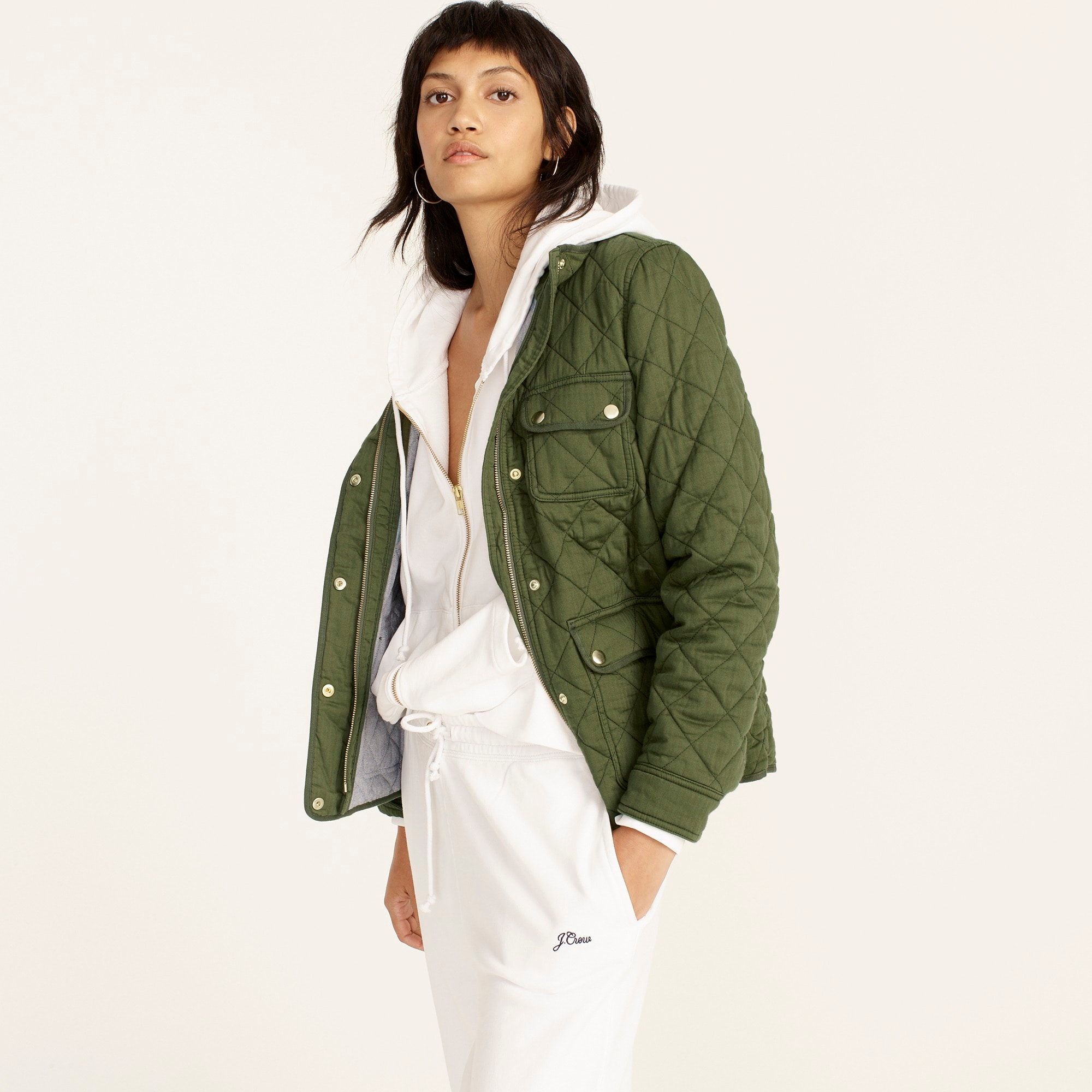 Image 1 for Quilted downtown field jacket