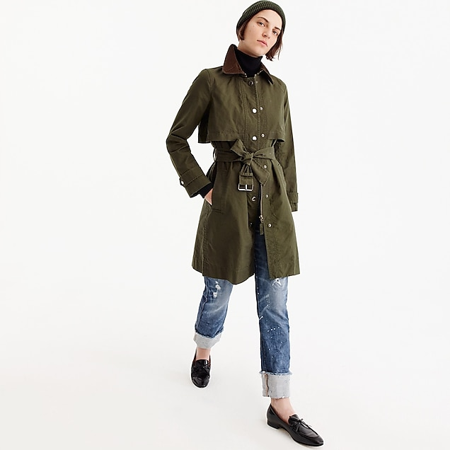 Field trench coat