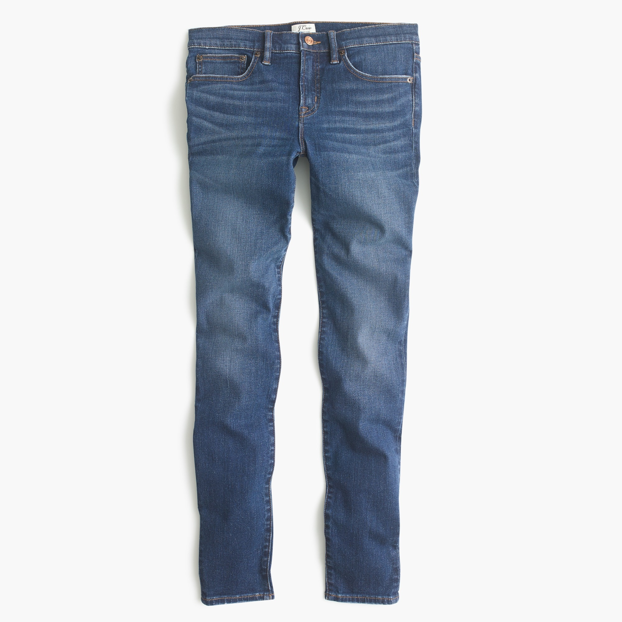 "Petite 8"" toothpick jean in Lyric wash"
